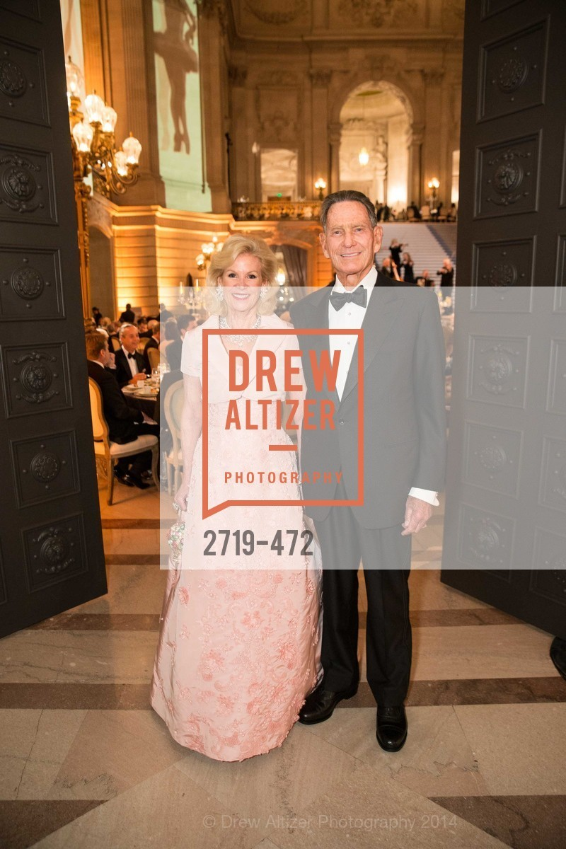 Dede Wilsey, Chao DeGuigne, SAN FRANCISCO BALLET Opening Night Gala: PHENOMENAL - Intermission & Dinner, US. SF City Hall, January 22nd, 2014,Drew Altizer, Drew Altizer Photography, full-service agency, private events, San Francisco photographer, photographer california