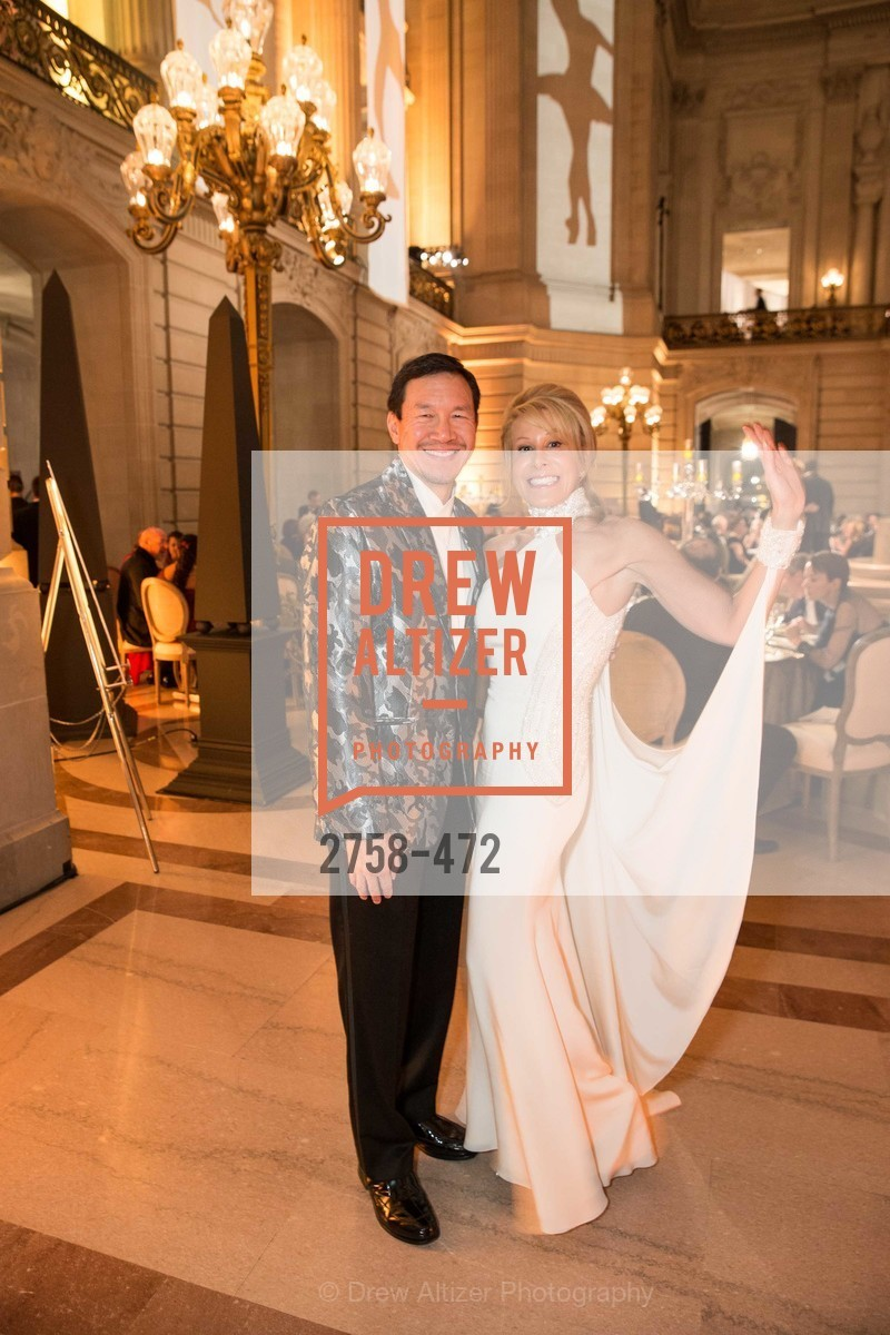 Timothy Wu, Jillian Manus, SAN FRANCISCO BALLET Opening Night Gala: PHENOMENAL - Intermission & Dinner, US. SF City Hall, January 22nd, 2014,Drew Altizer, Drew Altizer Photography, full-service agency, private events, San Francisco photographer, photographer california
