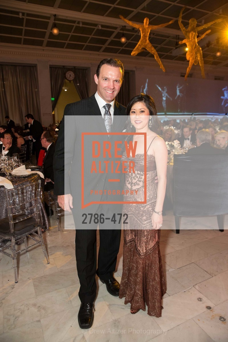 Bret Hedican, Kristi Yamaguchi, SAN FRANCISCO BALLET Opening Night Gala: PHENOMENAL - Intermission & Dinner, US. SF City Hall, January 22nd, 2014,Drew Altizer, Drew Altizer Photography, full-service agency, private events, San Francisco photographer, photographer california