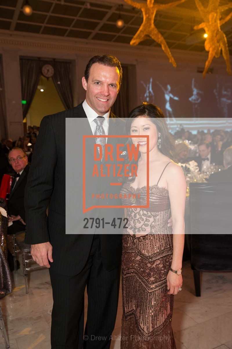 Bret Hedican, Kristi Yamaguchi, SAN FRANCISCO BALLET Opening Night Gala: PHENOMENAL - Intermission & Dinner, US. SF City Hall, January 22nd, 2014,Drew Altizer, Drew Altizer Photography, full-service event agency, private events, San Francisco photographer, photographer California