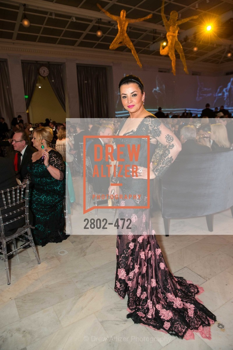 Azadeh Riaz, SAN FRANCISCO BALLET Opening Night Gala: PHENOMENAL - Intermission & Dinner, US. SF City Hall, January 22nd, 2014,Drew Altizer, Drew Altizer Photography, full-service event agency, private events, San Francisco photographer, photographer California