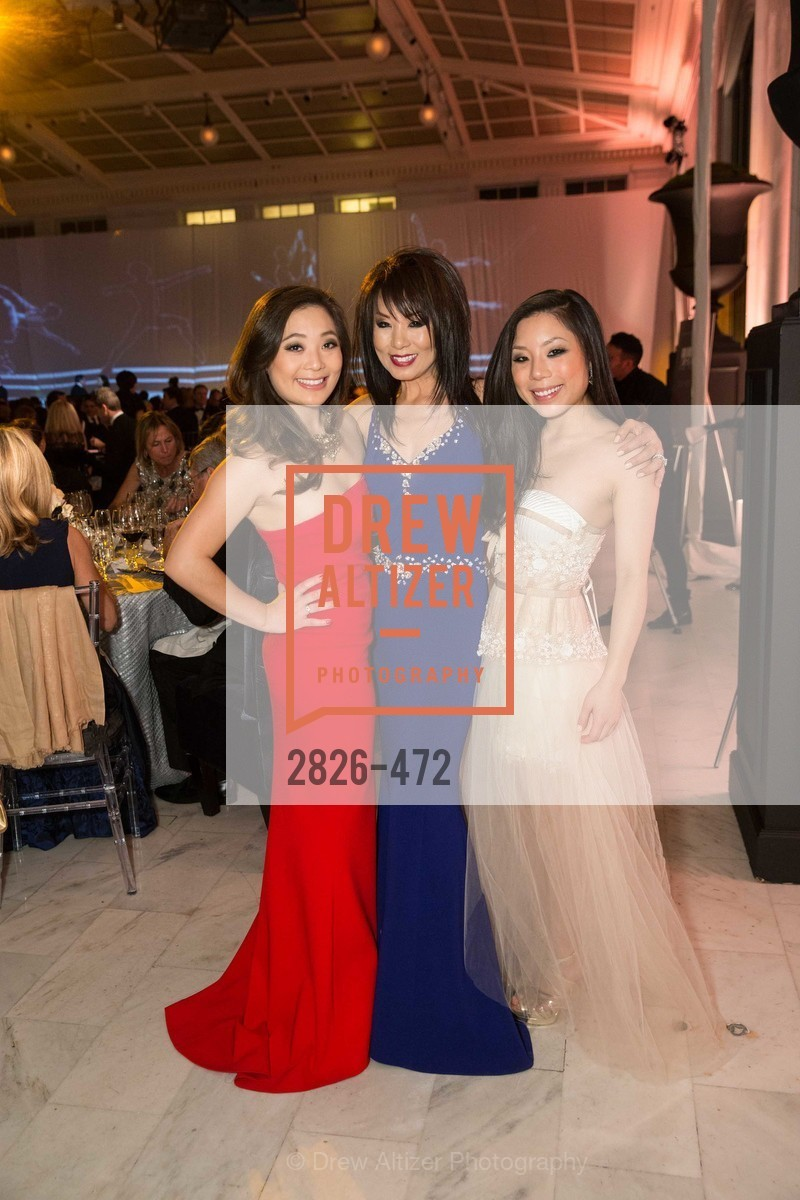 Kelsey Lee, Jennifer Lee, Kristin Lee, SAN FRANCISCO BALLET Opening Night Gala: PHENOMENAL - Intermission & Dinner, US. SF City Hall, January 22nd, 2014,Drew Altizer, Drew Altizer Photography, full-service agency, private events, San Francisco photographer, photographer california