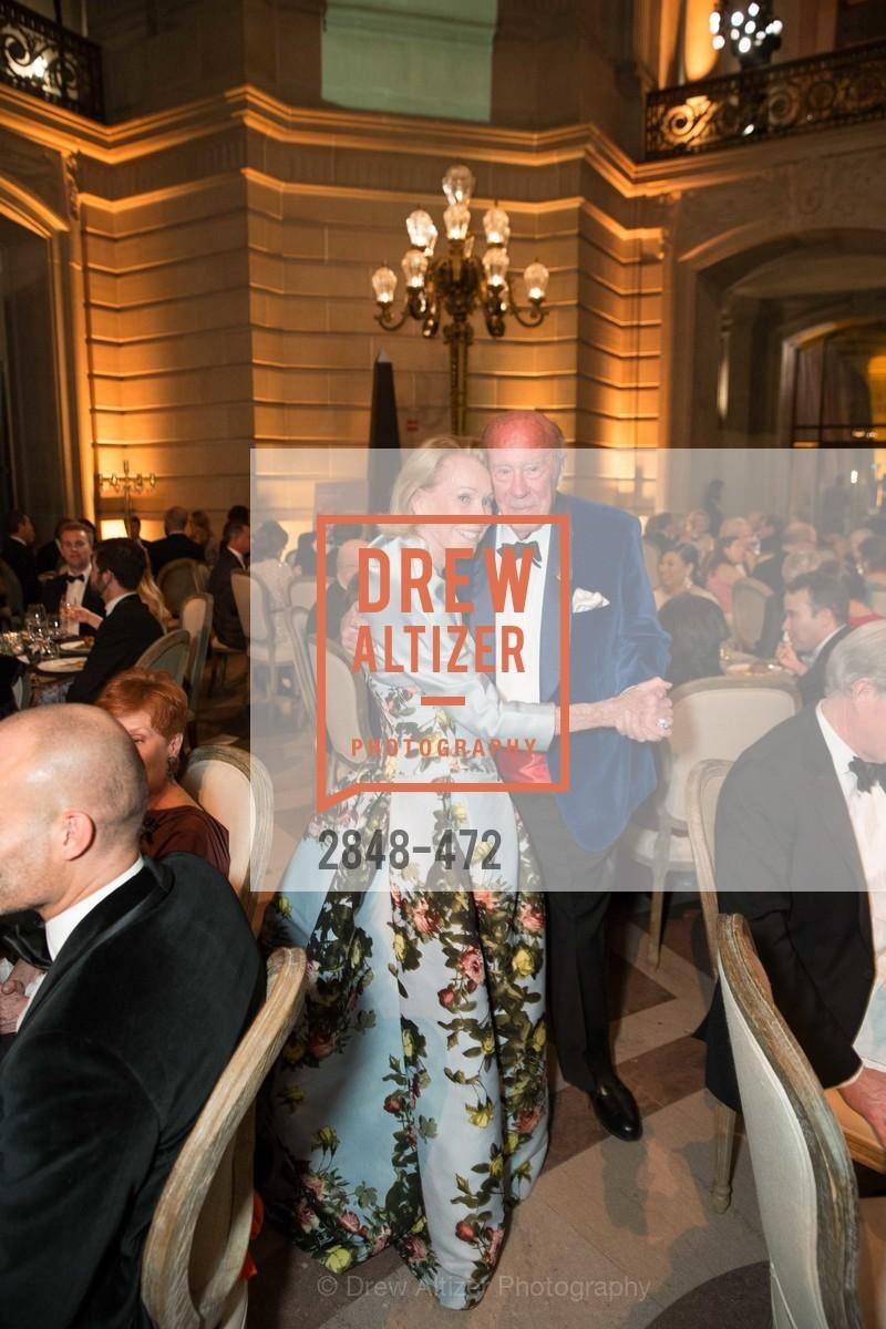 Charlotte Shultz, George Shultz, SAN FRANCISCO BALLET Opening Night Gala: PHENOMENAL - Intermission & Dinner, US. SF City Hall, January 22nd, 2014