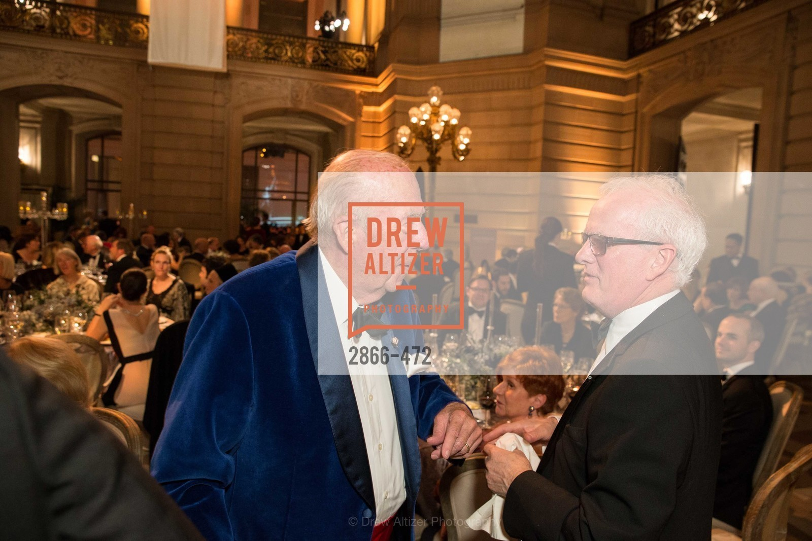 George Shultz, Helgi Tomasson, SAN FRANCISCO BALLET Opening Night Gala: PHENOMENAL - Intermission & Dinner, US. SF City Hall, January 22nd, 2014