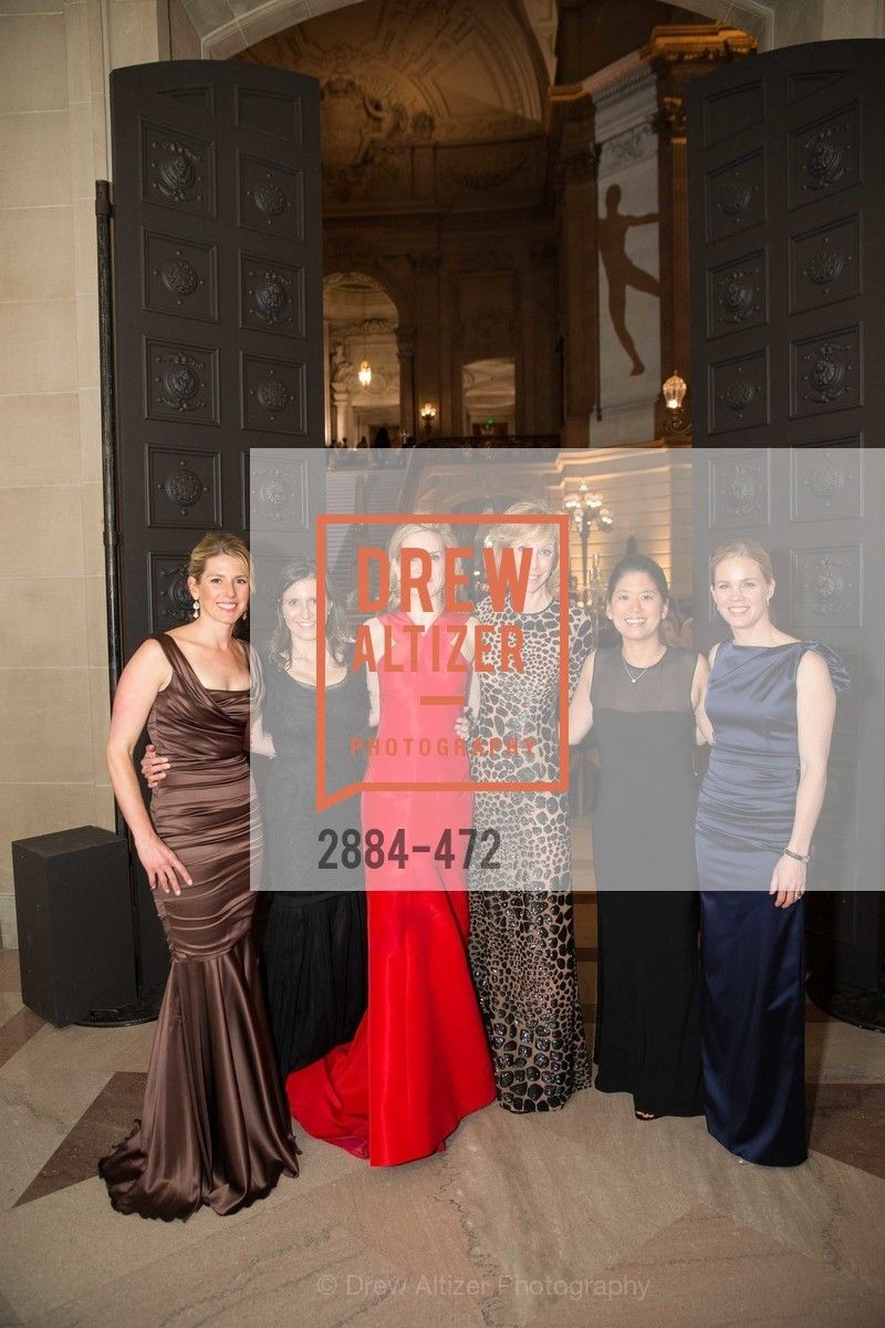 Erin O'Donovan, Jessica Spaly, Anne Marie Peterson, Nancy Kukacka, Tomoko Fortune, Alison Bhusri, SAN FRANCISCO BALLET Opening Night Gala: PHENOMENAL - Intermission & Dinner, US. SF City Hall, January 22nd, 2014,Drew Altizer, Drew Altizer Photography, full-service agency, private events, San Francisco photographer, photographer california