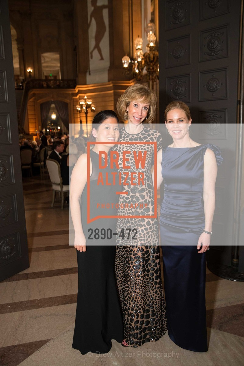 Tomoko Fortune, Nancy Kukacka, Alison Bhursri, SAN FRANCISCO BALLET Opening Night Gala: PHENOMENAL - Intermission & Dinner, US. SF City Hall, January 22nd, 2014,Drew Altizer, Drew Altizer Photography, full-service agency, private events, San Francisco photographer, photographer california