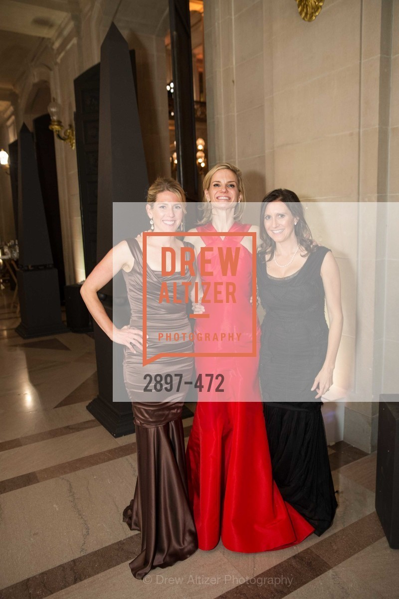 Erin O'Donovan, Anne Marie Peterson, Jessica Spaly, SAN FRANCISCO BALLET Opening Night Gala: PHENOMENAL - Intermission & Dinner, US. SF City Hall, January 22nd, 2014,Drew Altizer, Drew Altizer Photography, full-service agency, private events, San Francisco photographer, photographer california