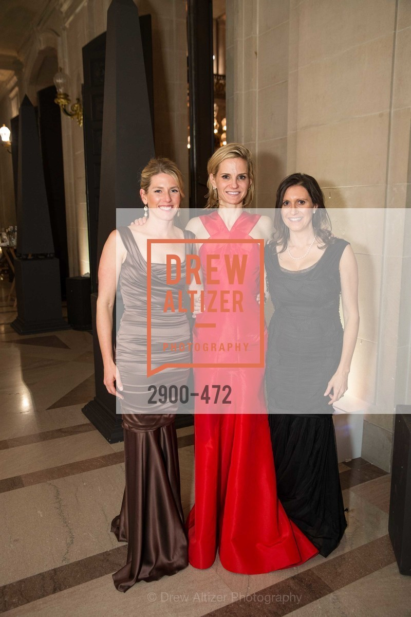 Erin O'Donovan, Anne Marie Peterson, Jessica Spaly, SAN FRANCISCO BALLET Opening Night Gala: PHENOMENAL - Intermission & Dinner, US. SF City Hall, January 22nd, 2014,Drew Altizer, Drew Altizer Photography, full-service event agency, private events, San Francisco photographer, photographer California