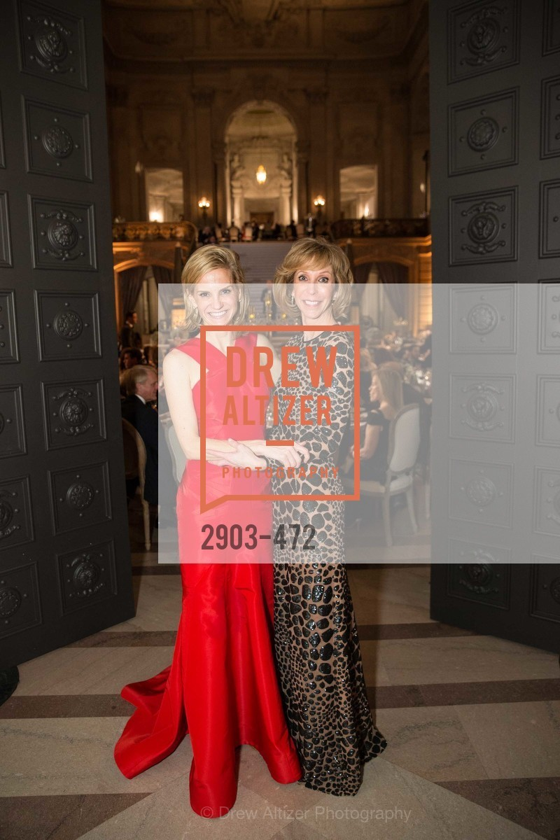 Anne Marie Peterson, Nancy Kukacka, SAN FRANCISCO BALLET Opening Night Gala: PHENOMENAL - Intermission & Dinner, US. SF City Hall, January 22nd, 2014,Drew Altizer, Drew Altizer Photography, full-service agency, private events, San Francisco photographer, photographer california
