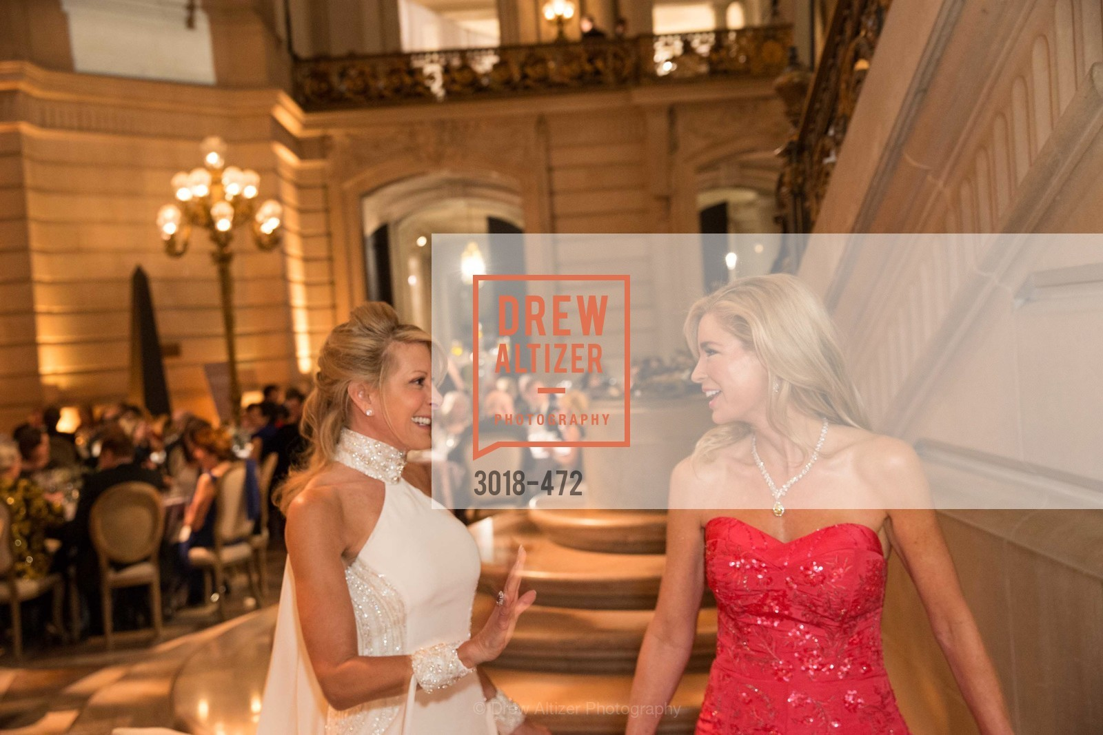 Jillian Manus, Paula Carano, SAN FRANCISCO BALLET Opening Night Gala: PHENOMENAL - Intermission & Dinner, US. SF City Hall, January 22nd, 2014,Drew Altizer, Drew Altizer Photography, full-service agency, private events, San Francisco photographer, photographer california