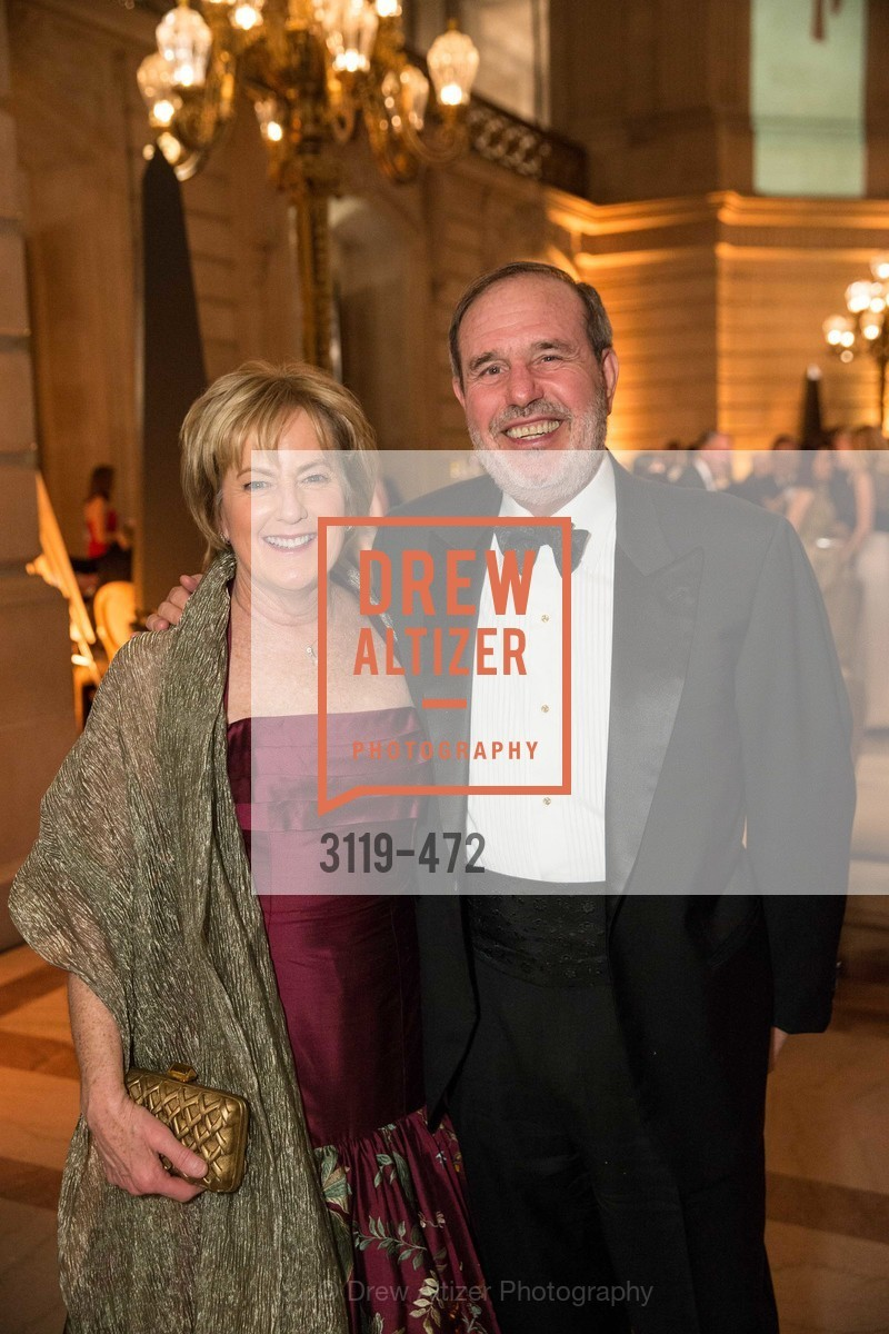 Marie Lipman, Barry Lipman, SAN FRANCISCO BALLET Opening Night Gala: PHENOMENAL - Intermission & Dinner, US. SF City Hall, January 22nd, 2014,Drew Altizer, Drew Altizer Photography, full-service event agency, private events, San Francisco photographer, photographer California