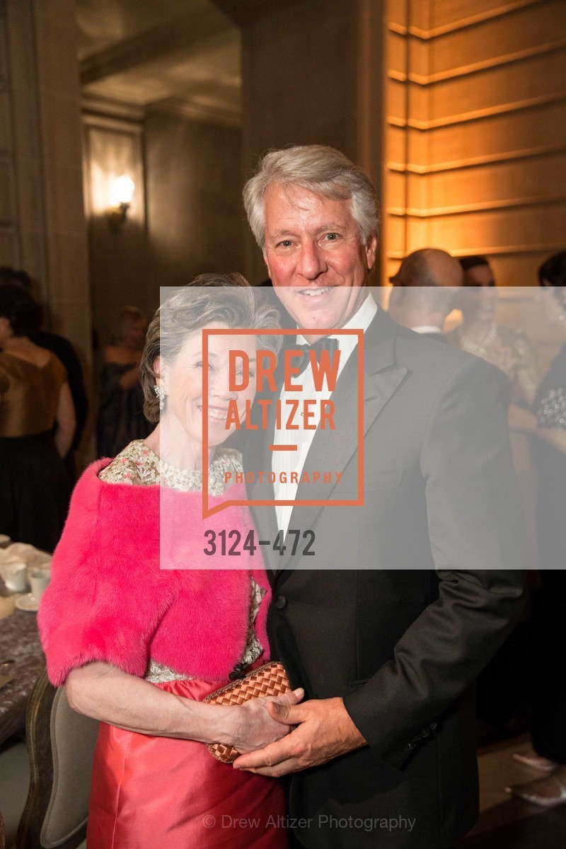Carole Shorenstein Hays, Jeffrey Hays, SAN FRANCISCO BALLET Opening Night Gala: PHENOMENAL - Intermission & Dinner, US. SF City Hall, January 22nd, 2014,Drew Altizer, Drew Altizer Photography, full-service agency, private events, San Francisco photographer, photographer california