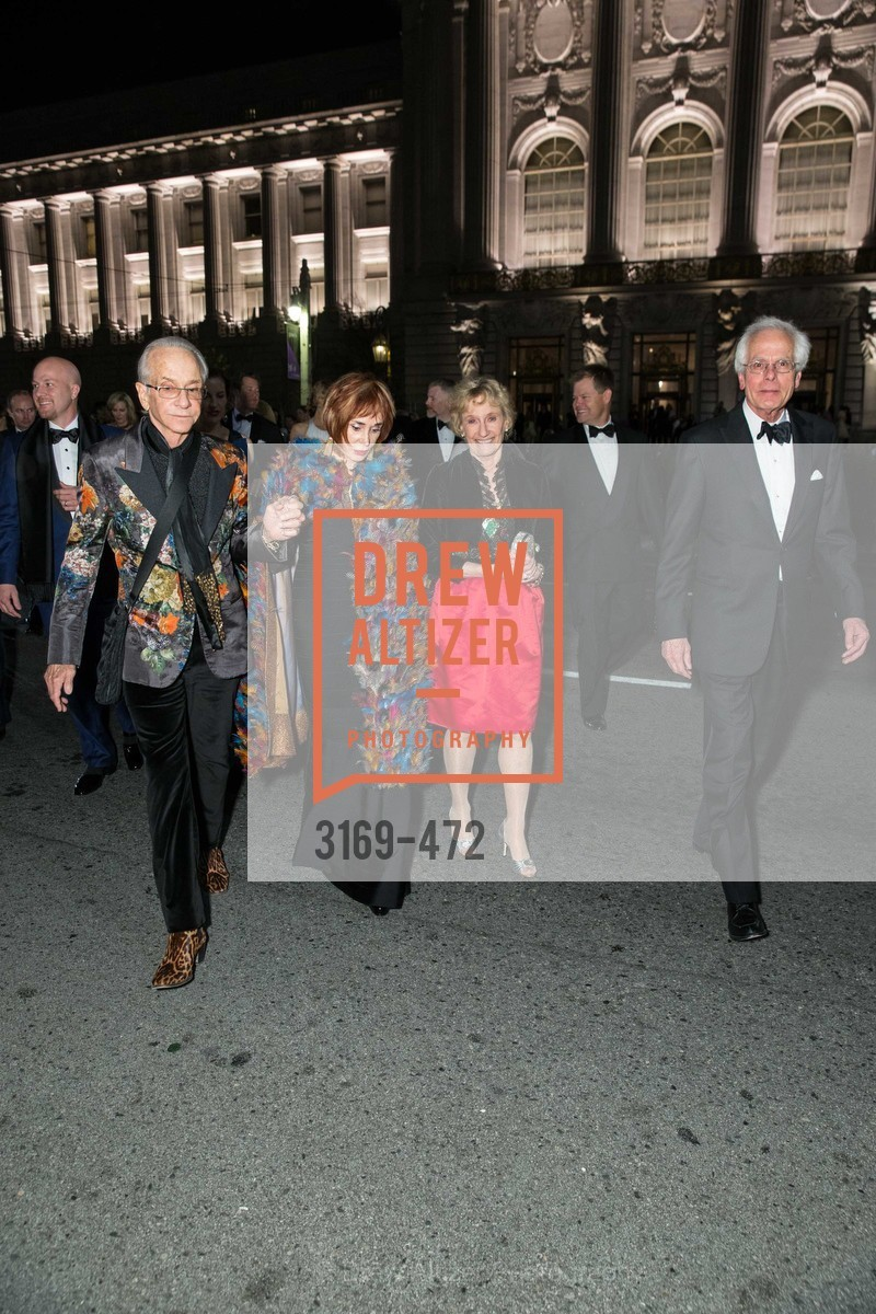 Norman Stone, Norah Stone, Nancy Bechtle, Joachim Bechtle, SAN FRANCISCO BALLET Opening Night Gala: PHENOMENAL - Intermission & Dinner, US. SF City Hall, January 22nd, 2014,Drew Altizer, Drew Altizer Photography, full-service agency, private events, San Francisco photographer, photographer california