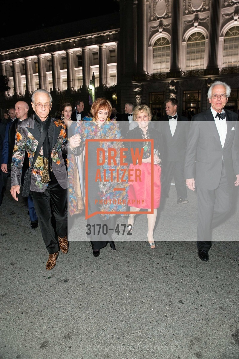 Norman Stone, Norah Stone, Nancy Bechtle, Joachim Bechtle, SAN FRANCISCO BALLET Opening Night Gala: PHENOMENAL - Intermission & Dinner, US. SF City Hall, January 22nd, 2014,Drew Altizer, Drew Altizer Photography, full-service event agency, private events, San Francisco photographer, photographer California