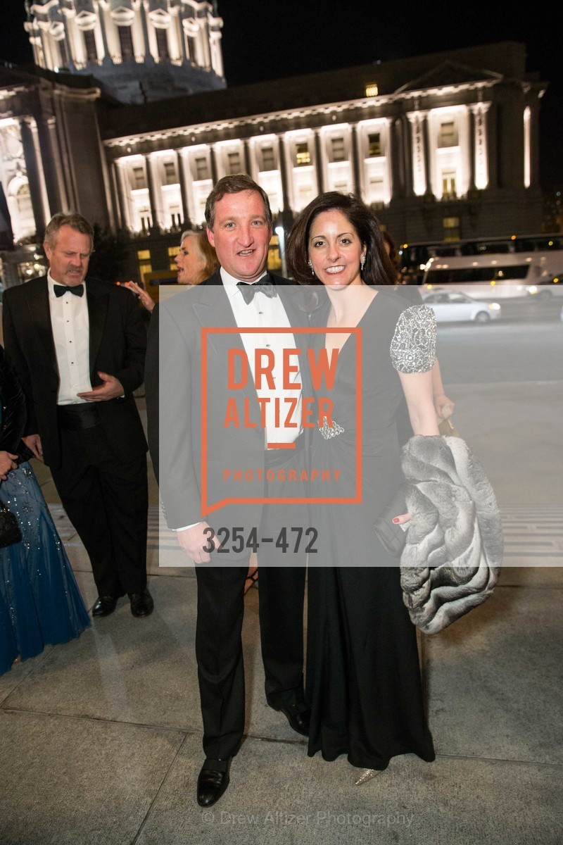 Ted Dobos, Stacey Dobos, SAN FRANCISCO BALLET Opening Night Gala: PHENOMENAL - Intermission & Dinner, US. SF City Hall, January 22nd, 2014,Drew Altizer, Drew Altizer Photography, full-service agency, private events, San Francisco photographer, photographer california