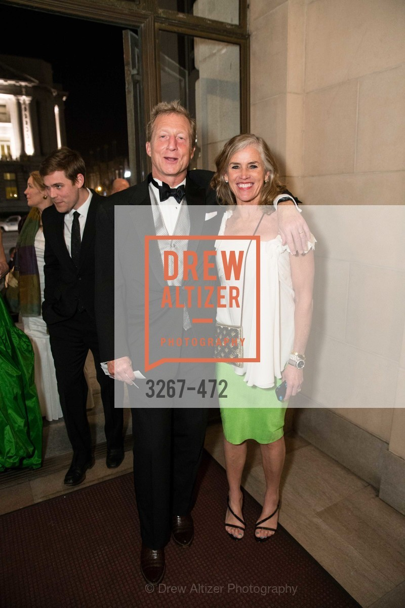 Tom Steyer, Kat Steyer, SAN FRANCISCO BALLET Opening Night Gala: PHENOMENAL - Intermission & Dinner, US. SF City Hall, January 22nd, 2014,Drew Altizer, Drew Altizer Photography, full-service agency, private events, San Francisco photographer, photographer california