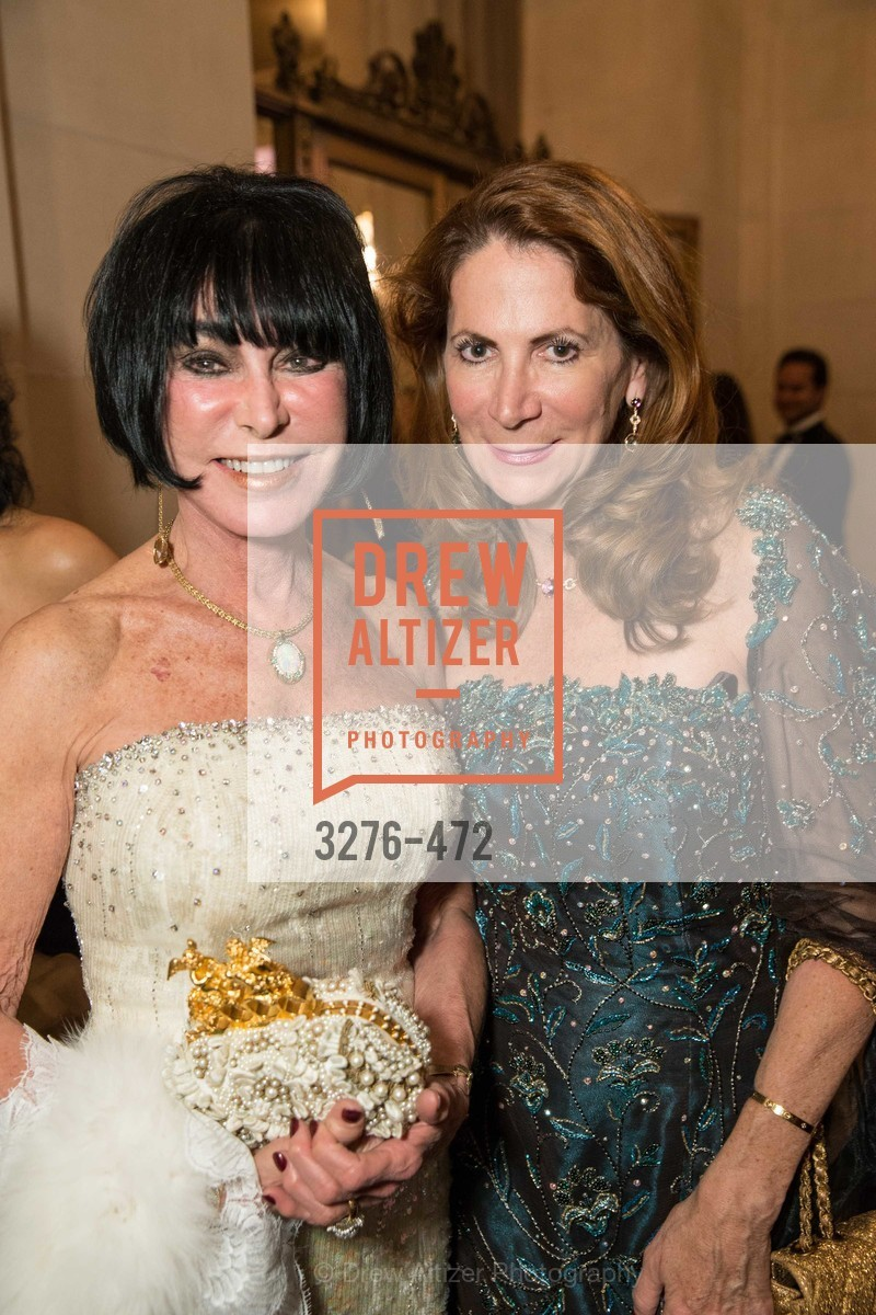 Marilyn Cabak, Patricia Ferrin Loucks, SAN FRANCISCO BALLET Opening Night Gala: PHENOMENAL - Intermission & Dinner, US. SF City Hall, January 22nd, 2014,Drew Altizer, Drew Altizer Photography, full-service agency, private events, San Francisco photographer, photographer california