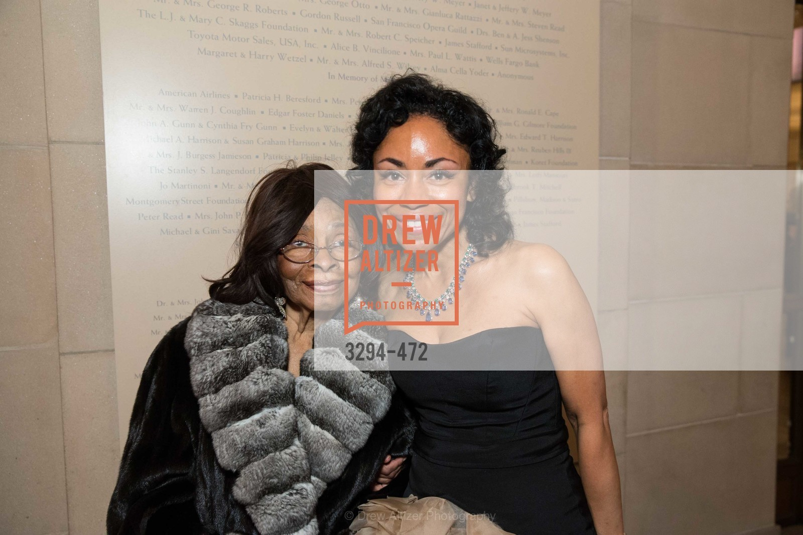 Doris Dubois, Tanya Powell, SAN FRANCISCO BALLET Opening Night Gala: PHENOMENAL - Intermission & Dinner, US. SF City Hall, January 22nd, 2014,Drew Altizer, Drew Altizer Photography, full-service agency, private events, San Francisco photographer, photographer california