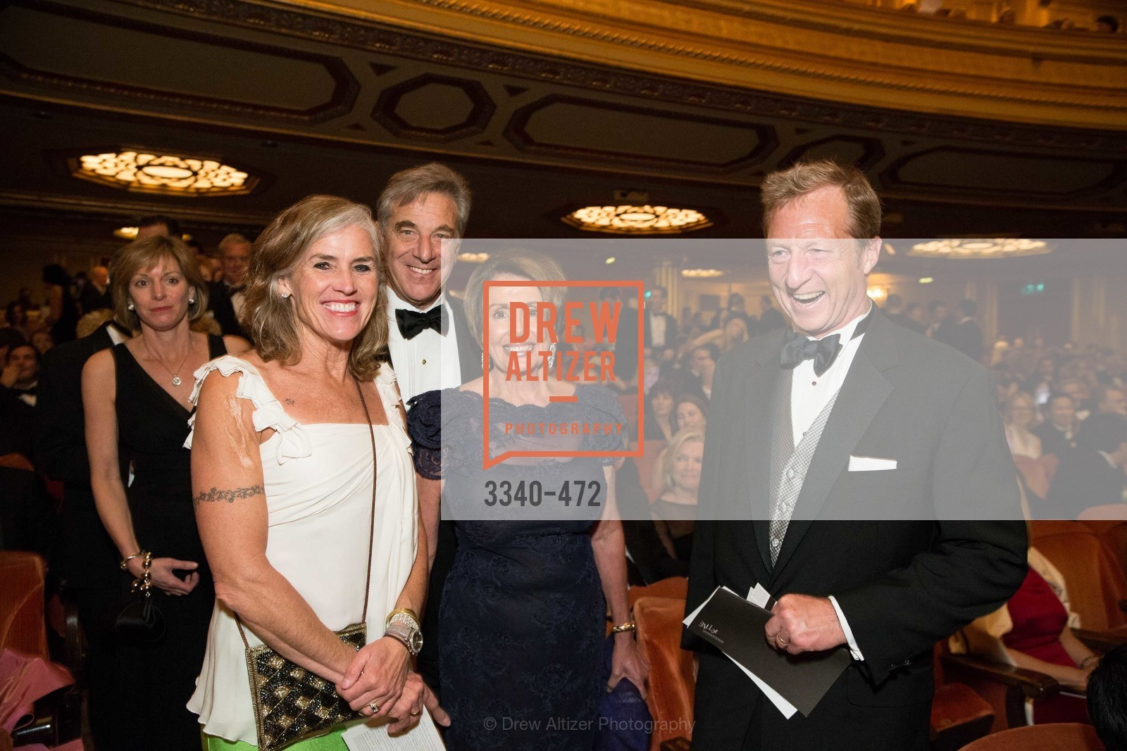 Kat Steyer, Paul Pelosi, Nancy Pelosi, Tom Steyer, SAN FRANCISCO BALLET Opening Night Gala: PHENOMENAL - Intermission & Dinner, US. SF City Hall, January 22nd, 2014,Drew Altizer, Drew Altizer Photography, full-service agency, private events, San Francisco photographer, photographer california