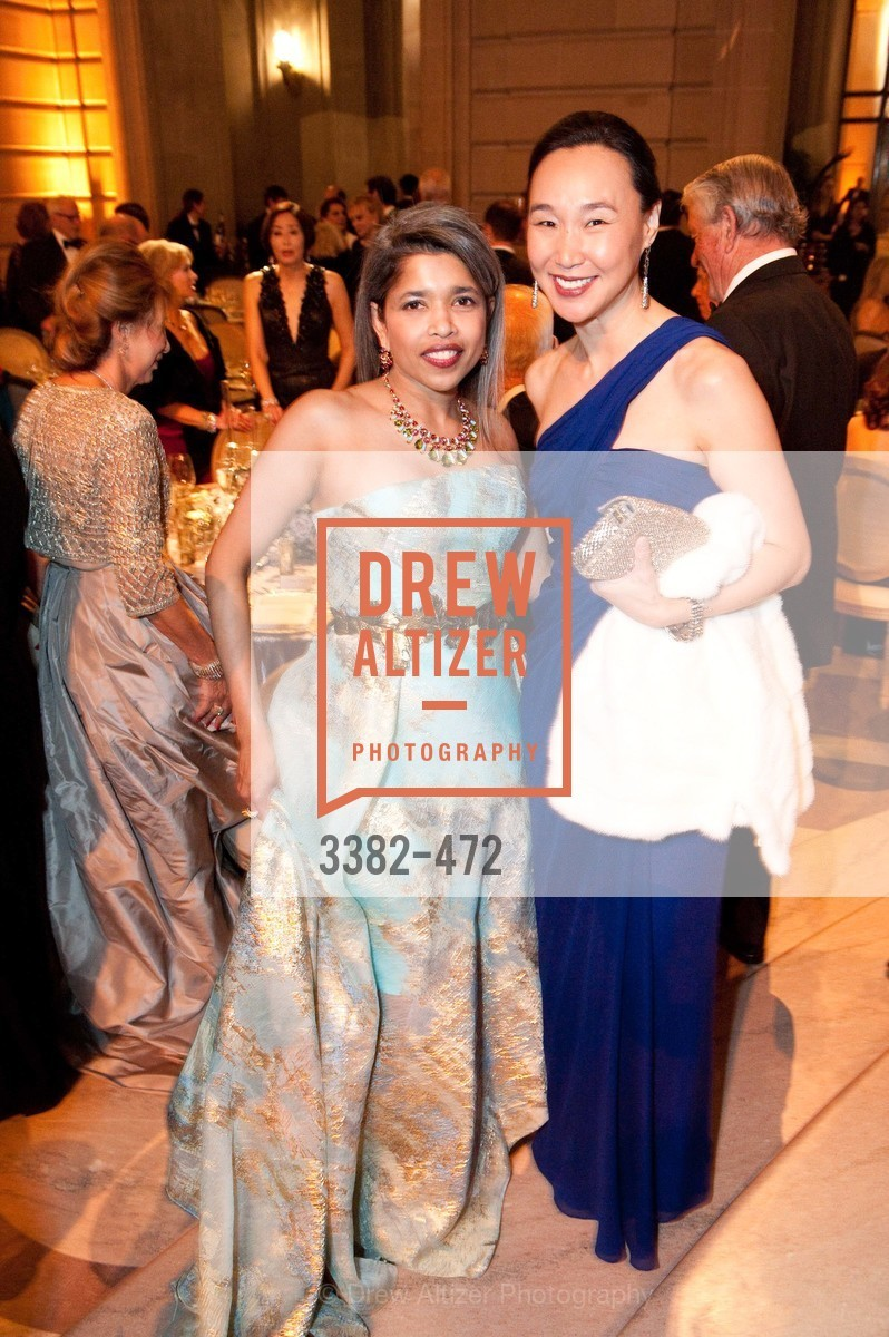 Deepa Pakianathan, Carolyn Chang, SAN FRANCISCO BALLET Opening Night Gala: PHENOMENAL - Intermission & Dinner, US. SF City Hall, January 22nd, 2014,Drew Altizer, Drew Altizer Photography, full-service agency, private events, San Francisco photographer, photographer california