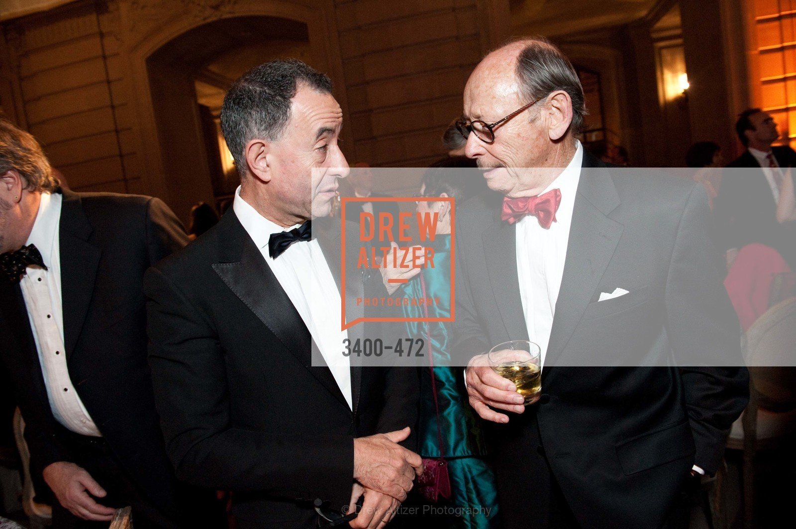 Colin Bailey, Bernard Osher, SAN FRANCISCO BALLET Opening Night Gala: PHENOMENAL - Intermission & Dinner, US. SF City Hall, January 22nd, 2014,Drew Altizer, Drew Altizer Photography, full-service agency, private events, San Francisco photographer, photographer california