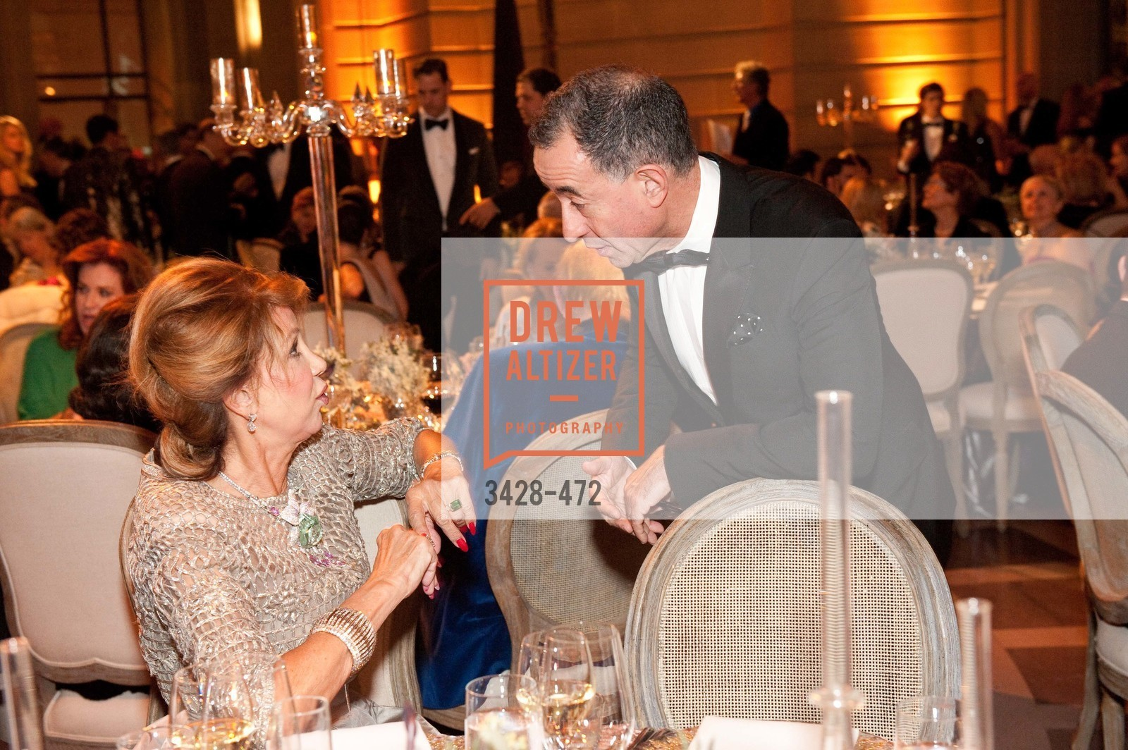 Lonna Wais, Colin Bailey, SAN FRANCISCO BALLET Opening Night Gala: PHENOMENAL - Intermission & Dinner, US. SF City Hall, January 22nd, 2014,Drew Altizer, Drew Altizer Photography, full-service agency, private events, San Francisco photographer, photographer california
