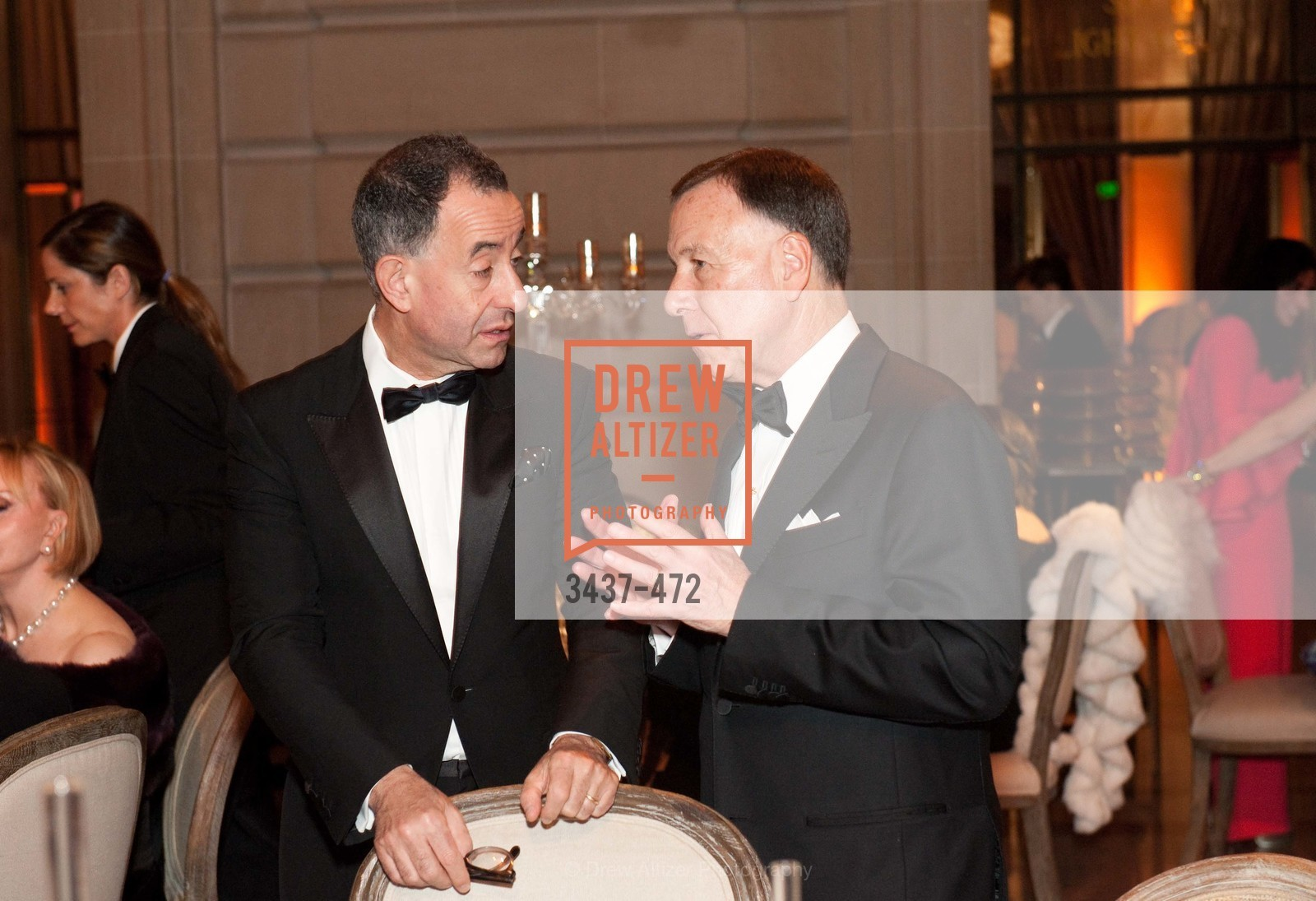 Colin Bailey, Carl Pascarella, SAN FRANCISCO BALLET Opening Night Gala: PHENOMENAL - Intermission & Dinner, US. SF City Hall, January 22nd, 2014,Drew Altizer, Drew Altizer Photography, full-service agency, private events, San Francisco photographer, photographer california