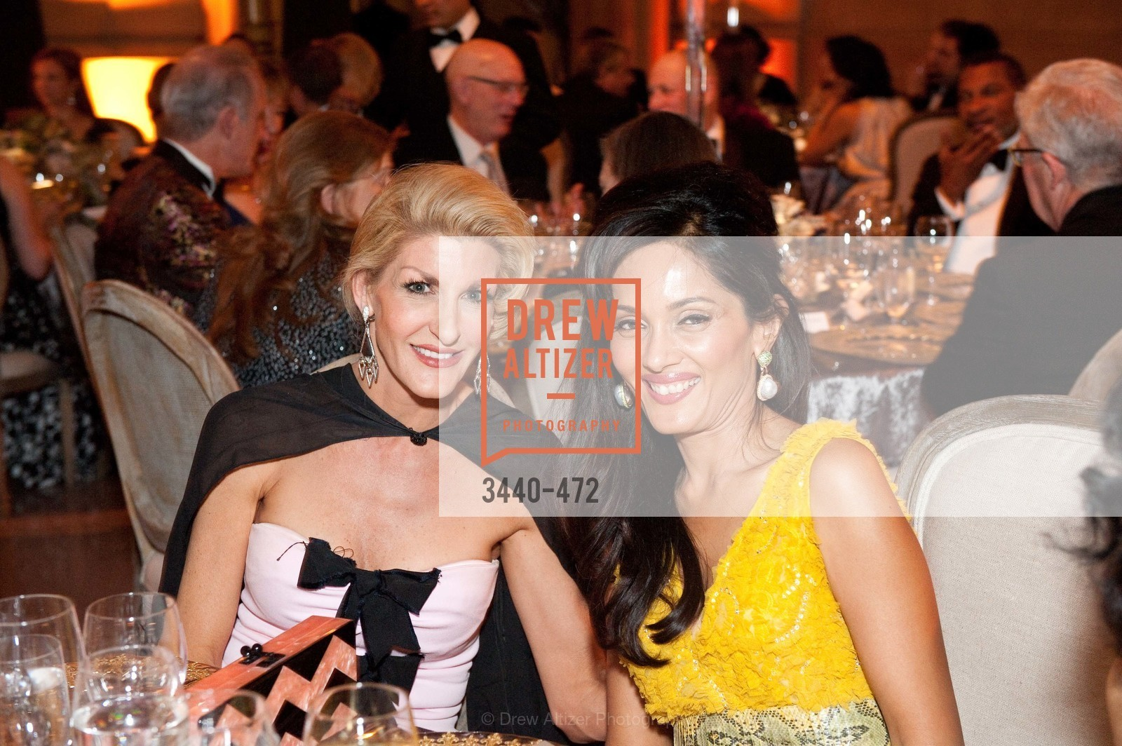 Karen Caldwell, Komal Shah, SAN FRANCISCO BALLET Opening Night Gala: PHENOMENAL - Intermission & Dinner, US. SF City Hall, January 22nd, 2014,Drew Altizer, Drew Altizer Photography, full-service agency, private events, San Francisco photographer, photographer california