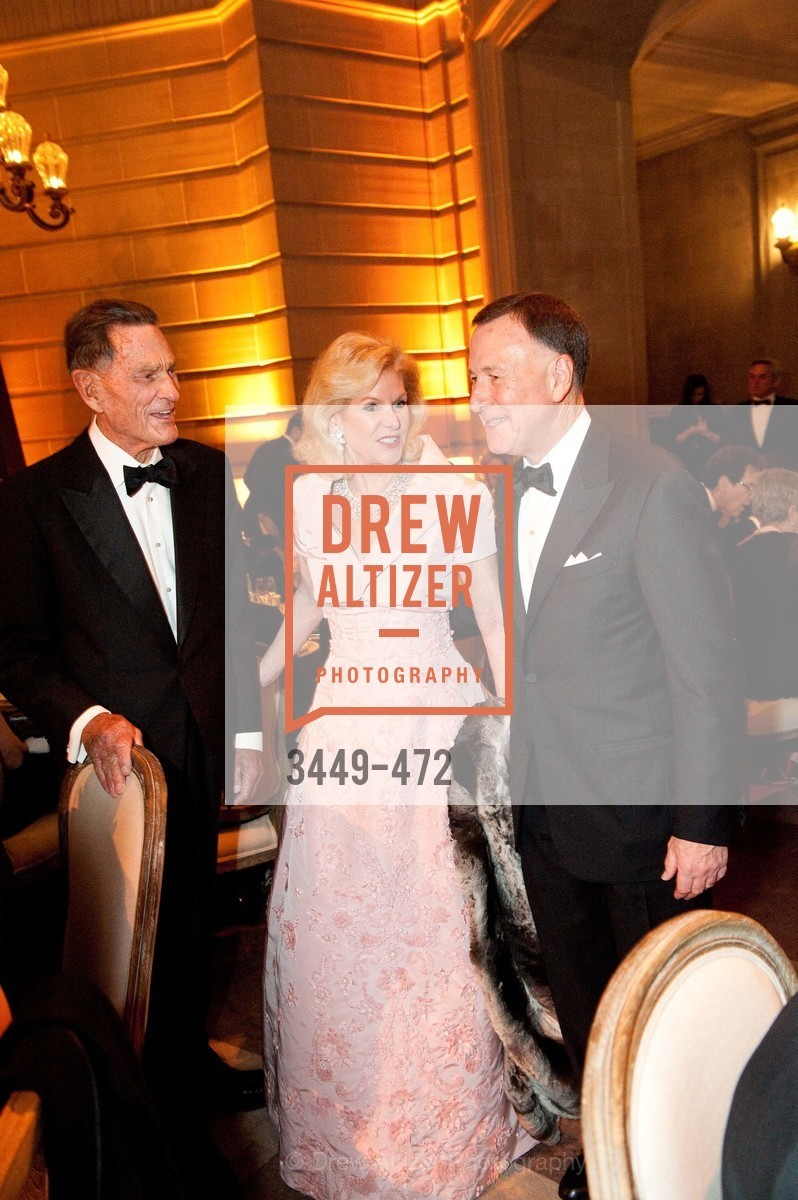 Dede Wilsey, Colin Bailey, SAN FRANCISCO BALLET Opening Night Gala: PHENOMENAL - Intermission & Dinner, US. SF City Hall, January 22nd, 2014,Drew Altizer, Drew Altizer Photography, full-service agency, private events, San Francisco photographer, photographer california