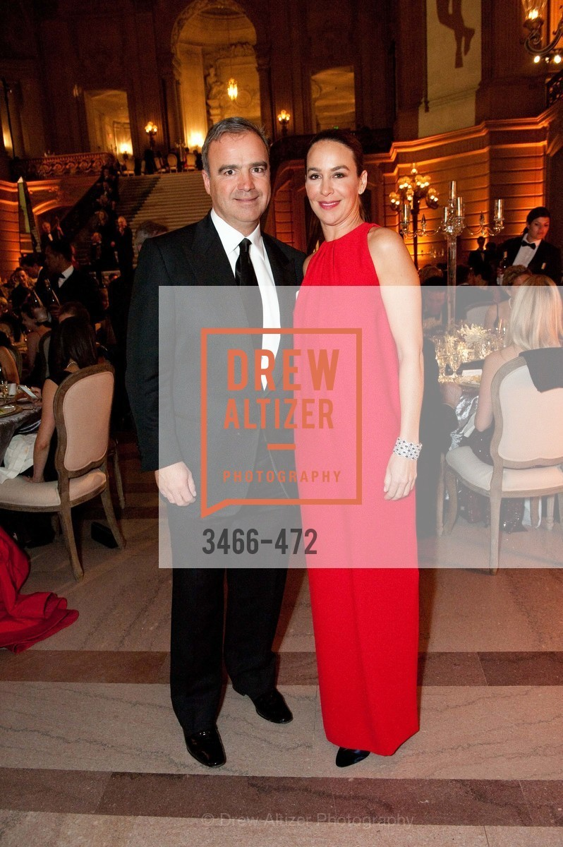 Jean Pierre Conte, Hillary Thomas, SAN FRANCISCO BALLET Opening Night Gala: PHENOMENAL - Intermission & Dinner, US. SF City Hall, January 22nd, 2014,Drew Altizer, Drew Altizer Photography, full-service agency, private events, San Francisco photographer, photographer california