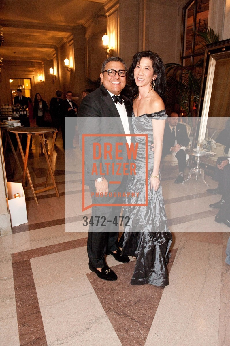 Riccardo Benavides, Louise Chan, SAN FRANCISCO BALLET Opening Night Gala: PHENOMENAL - Intermission & Dinner, US. SF City Hall, January 22nd, 2014,Drew Altizer, Drew Altizer Photography, full-service agency, private events, San Francisco photographer, photographer california