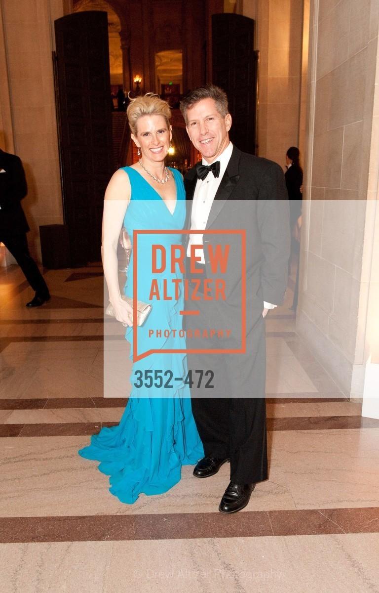 Marie Hurabiell, Danny Baker, SAN FRANCISCO BALLET Opening Night Gala: PHENOMENAL - Intermission & Dinner, US. SF City Hall, January 22nd, 2014