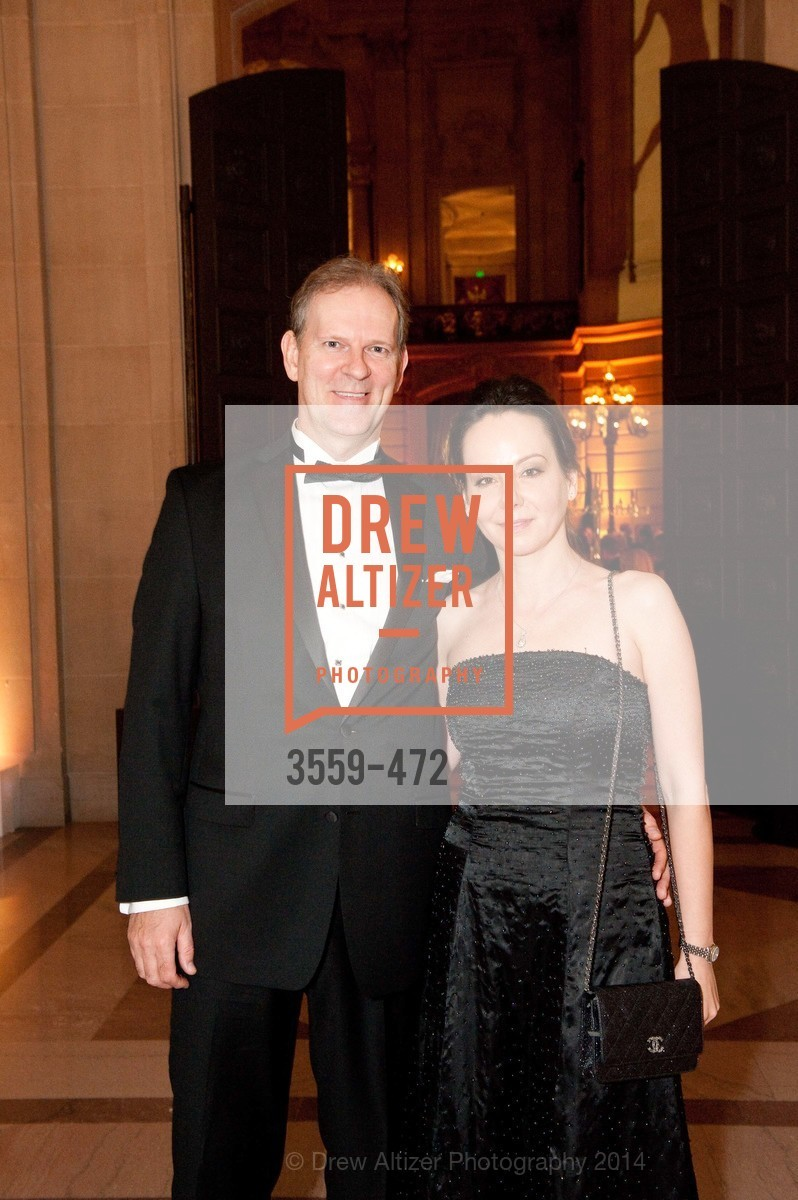 David Gallaher, Jordana Gallaher, SAN FRANCISCO BALLET Opening Night Gala: PHENOMENAL - Intermission & Dinner, US. SF City Hall, January 22nd, 2014,Drew Altizer, Drew Altizer Photography, full-service agency, private events, San Francisco photographer, photographer california