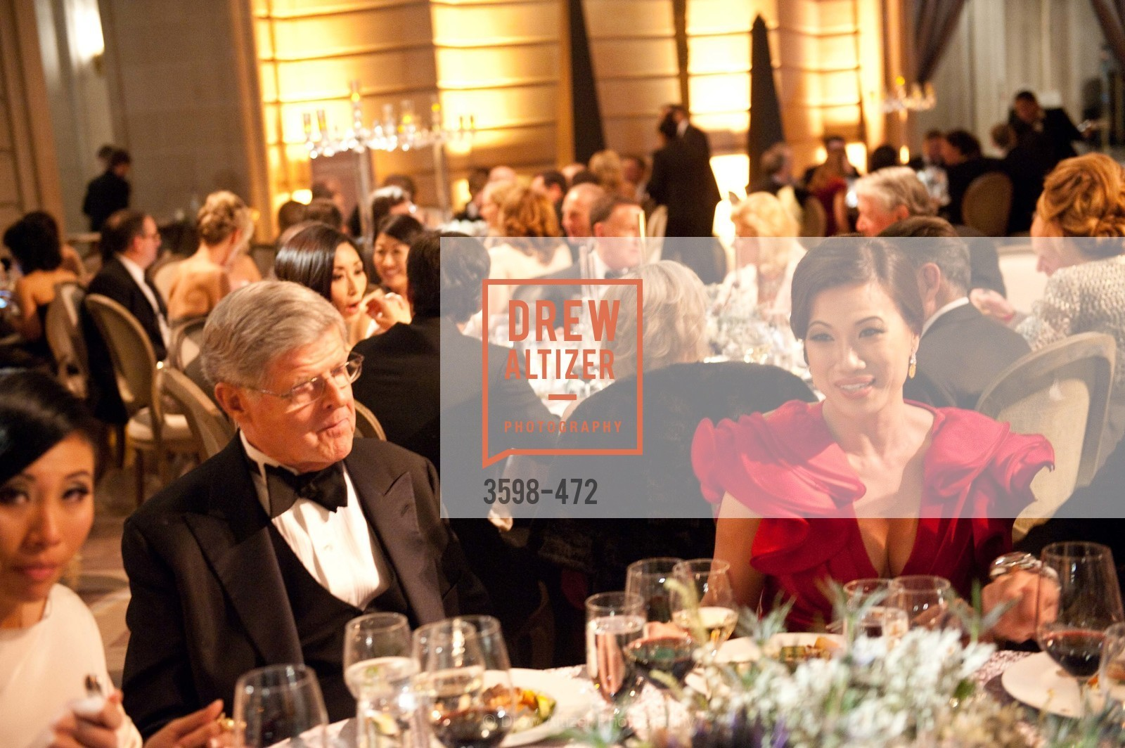 Richard Barker, Rocelyn Chen, SAN FRANCISCO BALLET Opening Night Gala: PHENOMENAL - Intermission & Dinner, US. SF City Hall, January 22nd, 2014,Drew Altizer, Drew Altizer Photography, full-service agency, private events, San Francisco photographer, photographer california