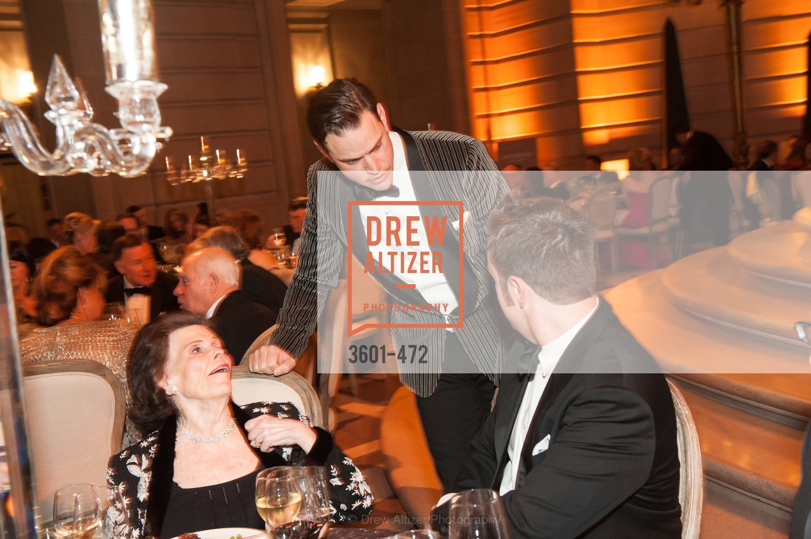 Lucy Jewett, Robert Mailer Anderson, SAN FRANCISCO BALLET Opening Night Gala: PHENOMENAL - Intermission & Dinner, US. SF City Hall, January 22nd, 2014,Drew Altizer, Drew Altizer Photography, full-service agency, private events, San Francisco photographer, photographer california