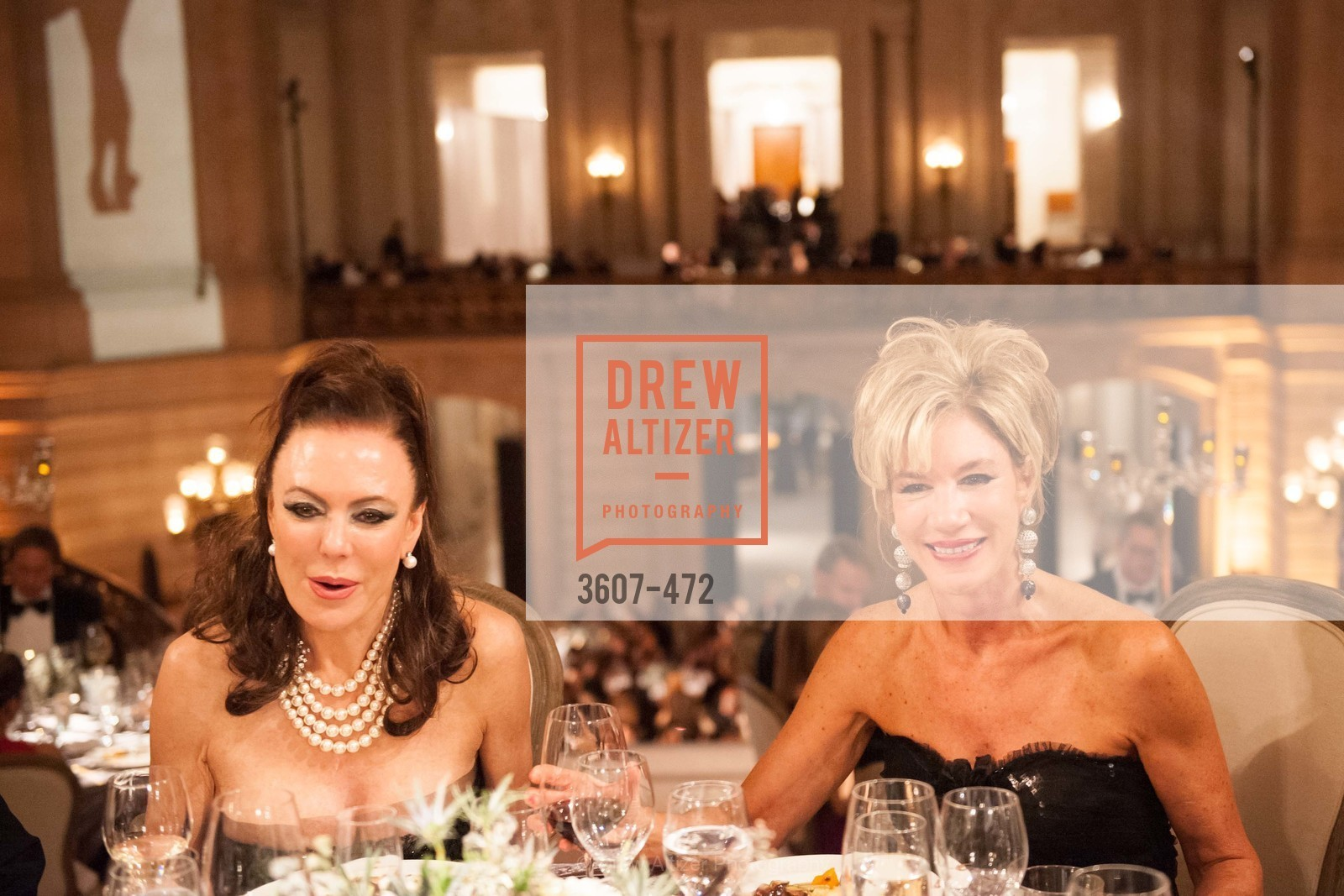 Margaret Mitchell, Mary Poland, SAN FRANCISCO BALLET Opening Night Gala: PHENOMENAL - Intermission & Dinner, US. SF City Hall, January 22nd, 2014,Drew Altizer, Drew Altizer Photography, full-service event agency, private events, San Francisco photographer, photographer California