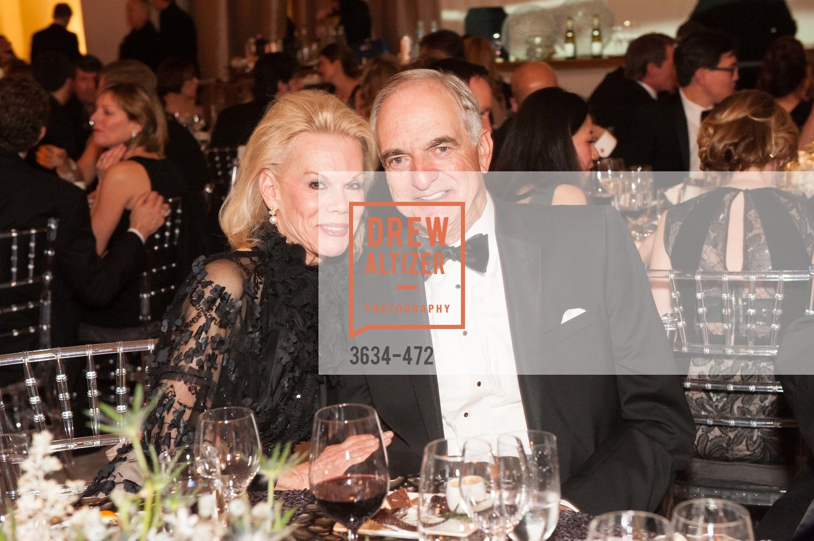 Sandra Farris, Mike Milstein, SAN FRANCISCO BALLET Opening Night Gala: PHENOMENAL - Intermission & Dinner, US. SF City Hall, January 22nd, 2014,Drew Altizer, Drew Altizer Photography, full-service agency, private events, San Francisco photographer, photographer california