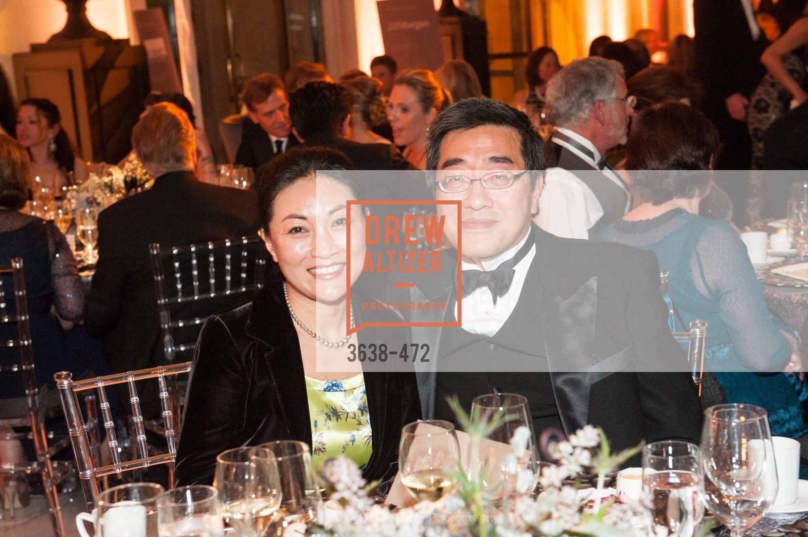 Wei Zhang, Jerry Mok, SAN FRANCISCO BALLET Opening Night Gala: PHENOMENAL - Intermission & Dinner, US. SF City Hall, January 22nd, 2014,Drew Altizer, Drew Altizer Photography, full-service agency, private events, San Francisco photographer, photographer california