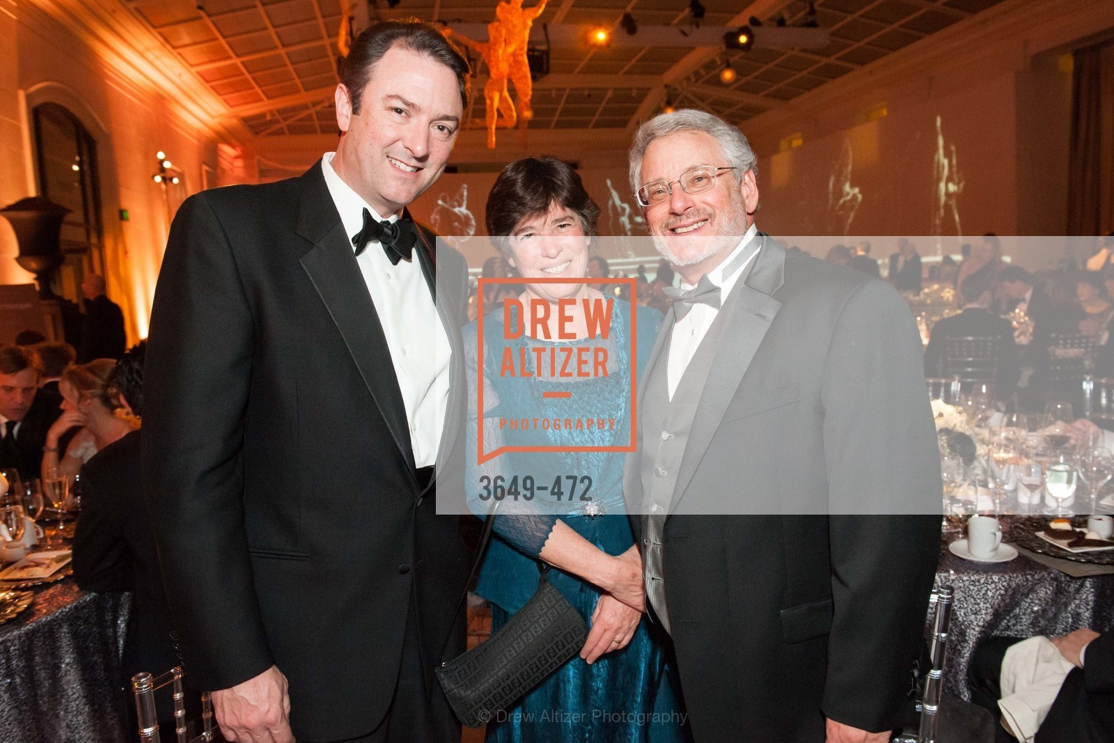 Mark Pittsey, Terry Nebbitt, Philip Simon, SAN FRANCISCO BALLET Opening Night Gala: PHENOMENAL - Intermission & Dinner, US. SF City Hall, January 22nd, 2014,Drew Altizer, Drew Altizer Photography, full-service agency, private events, San Francisco photographer, photographer california