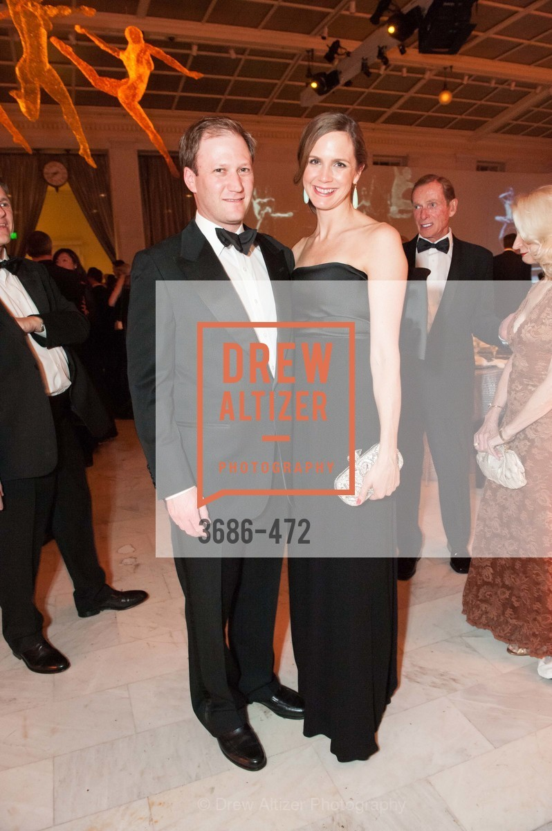 Jason Moment, Jessica Moment, SAN FRANCISCO BALLET Opening Night Gala: PHENOMENAL - Intermission & Dinner, US. SF City Hall, January 22nd, 2014,Drew Altizer, Drew Altizer Photography, full-service agency, private events, San Francisco photographer, photographer california