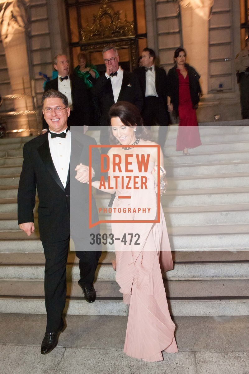 Nicholas Zaldastani, Susan Atherton, SAN FRANCISCO BALLET Opening Night Gala: PHENOMENAL - Intermission & Dinner, US. SF City Hall, January 22nd, 2014,Drew Altizer, Drew Altizer Photography, full-service agency, private events, San Francisco photographer, photographer california