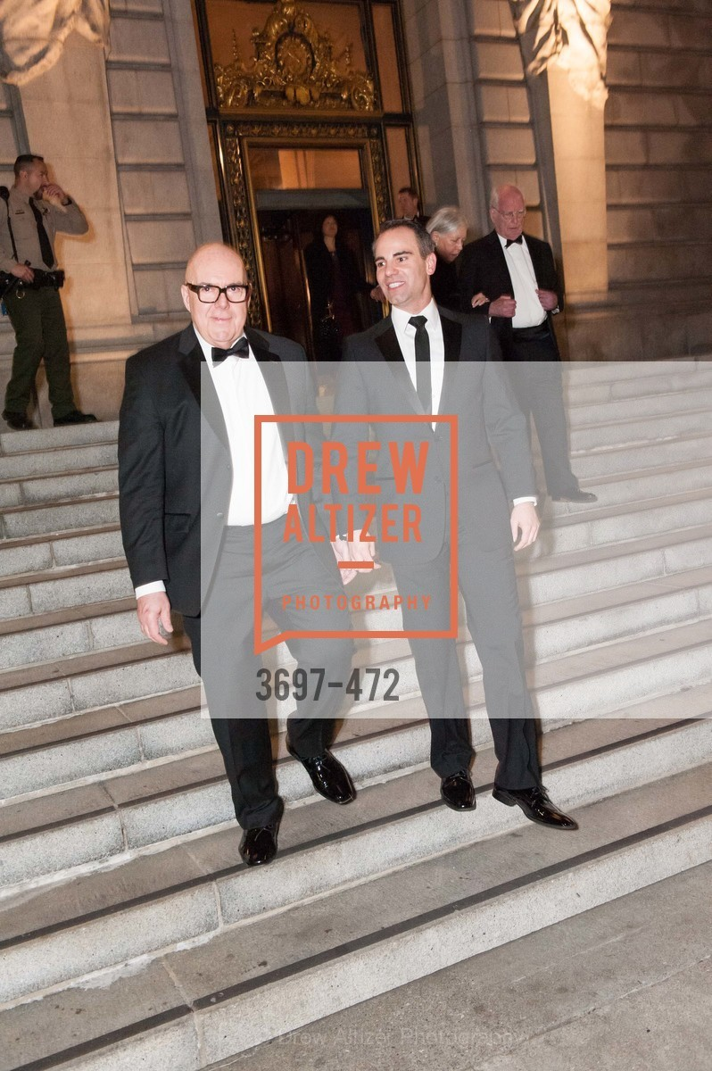 Robert Atkinson, Darren Anderson, SAN FRANCISCO BALLET Opening Night Gala: PHENOMENAL - Intermission & Dinner, US. SF City Hall, January 22nd, 2014,Drew Altizer, Drew Altizer Photography, full-service agency, private events, San Francisco photographer, photographer california