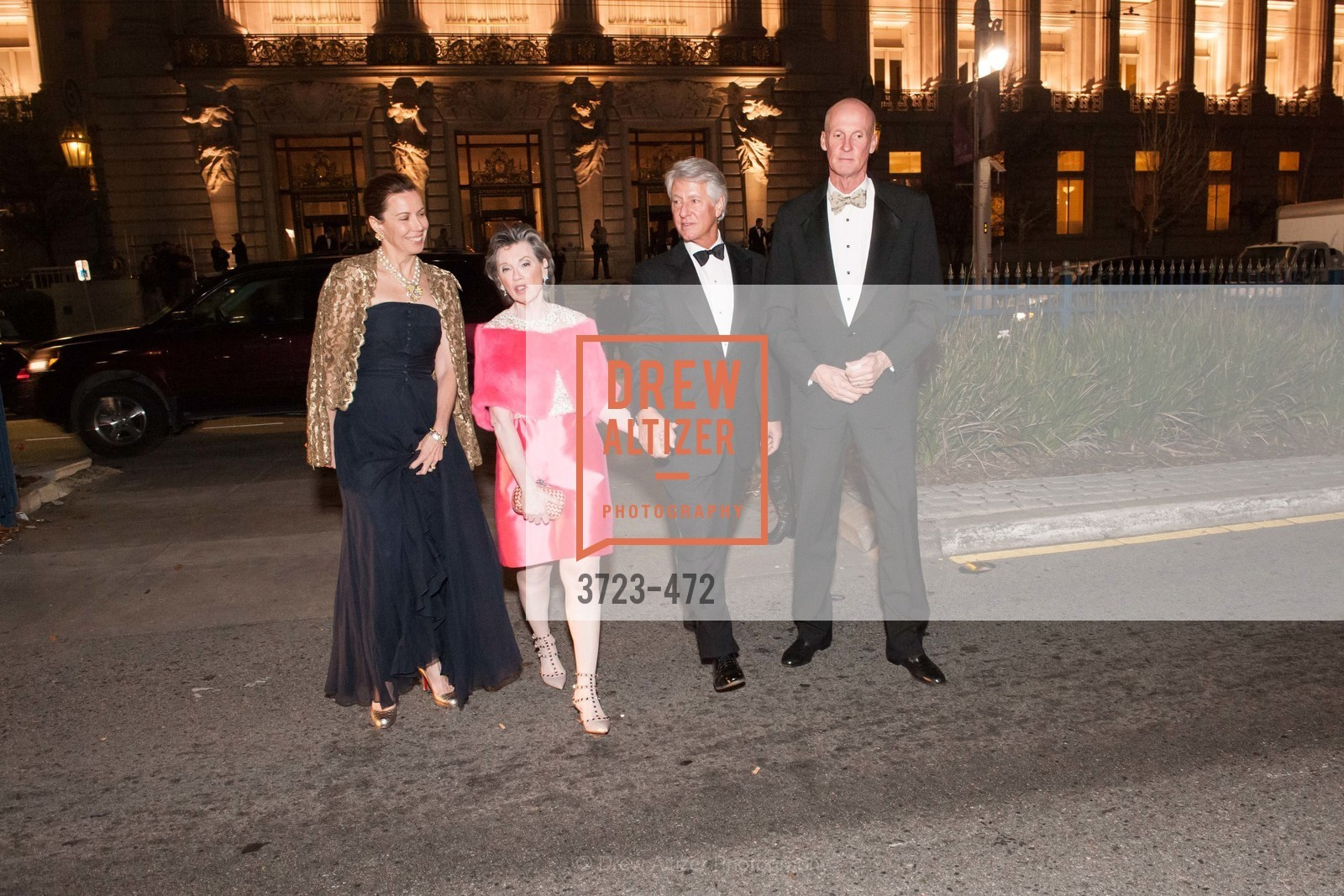 Millicent Powers, Carole Shorenstein Hays, Jeffrey Hays, John Powers, SAN FRANCISCO BALLET Opening Night Gala: PHENOMENAL - Intermission & Dinner, US. SF City Hall, January 22nd, 2014,Drew Altizer, Drew Altizer Photography, full-service agency, private events, San Francisco photographer, photographer california