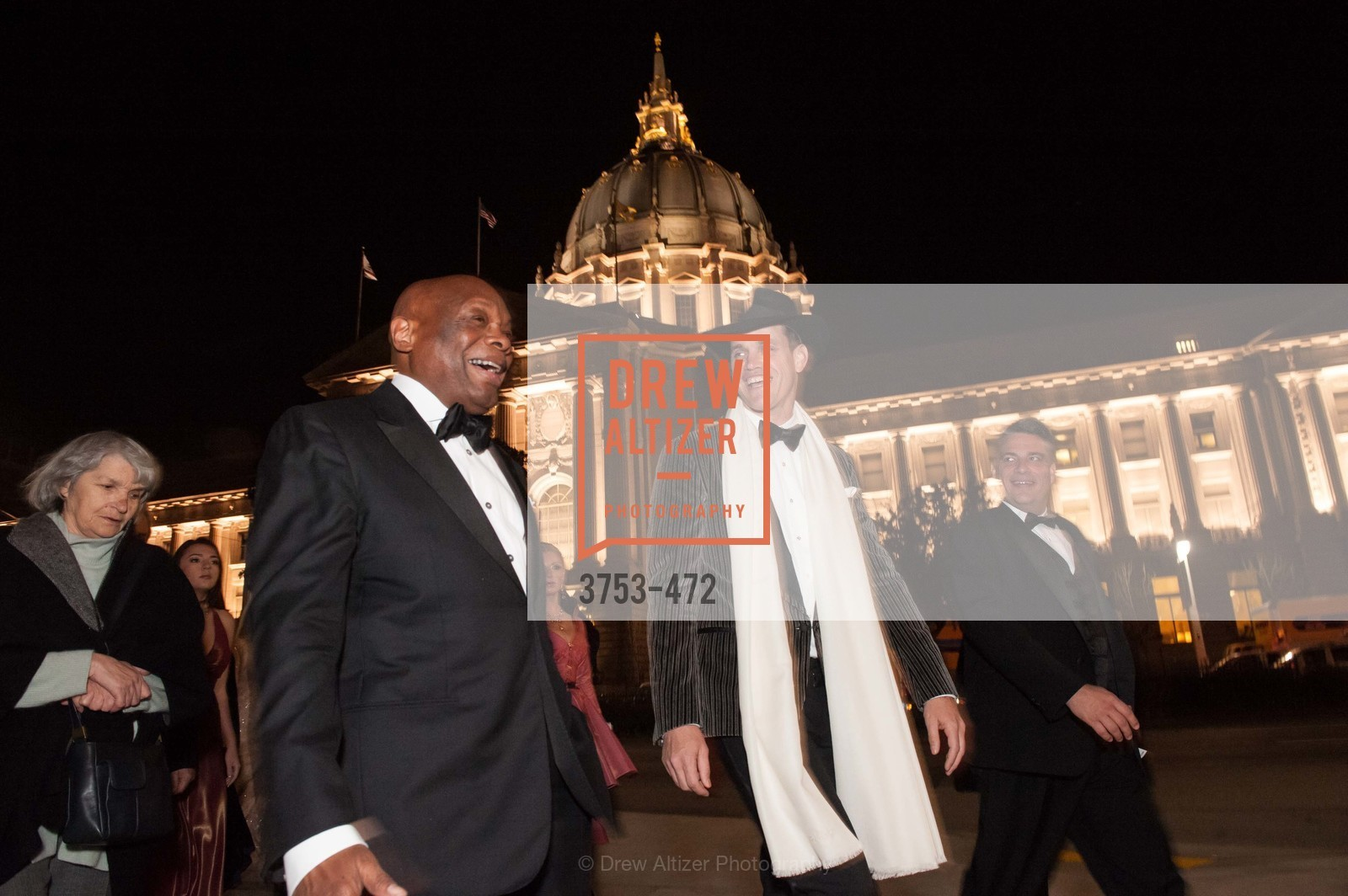 Willie Brown, Robert Mailer Anderson, SAN FRANCISCO BALLET Opening Night Gala: PHENOMENAL - Intermission & Dinner, US. SF City Hall, January 22nd, 2014,Drew Altizer, Drew Altizer Photography, full-service agency, private events, San Francisco photographer, photographer california