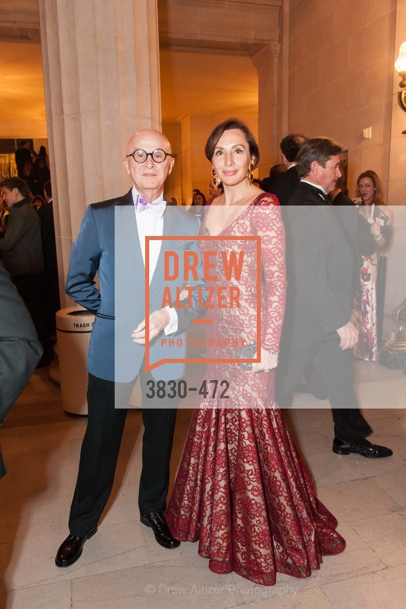 Orlando Diaz-Azcuy, Clara Shayevich, SAN FRANCISCO BALLET Opening Night Gala: PHENOMENAL - Intermission & Dinner, US. SF City Hall, January 22nd, 2014,Drew Altizer, Drew Altizer Photography, full-service agency, private events, San Francisco photographer, photographer california