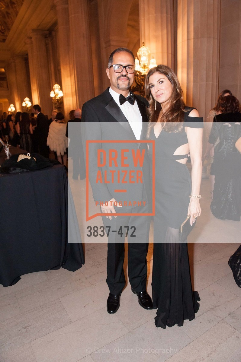 Nabiel Musleh, Jenny Boyle, SAN FRANCISCO BALLET Opening Night Gala: PHENOMENAL - Intermission & Dinner, US. SF City Hall, January 22nd, 2014,Drew Altizer, Drew Altizer Photography, full-service agency, private events, San Francisco photographer, photographer california