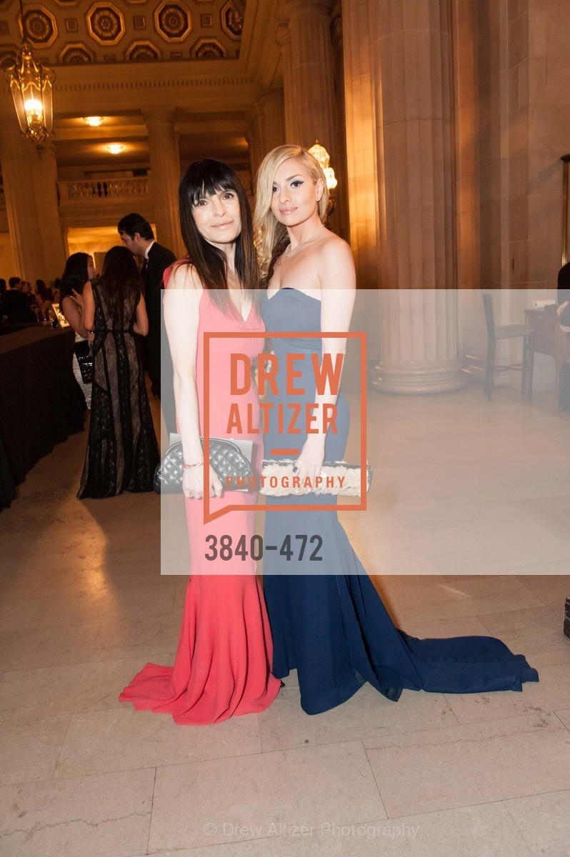 Marina Mirzoyev, Olivia Mirzoyev, SAN FRANCISCO BALLET Opening Night Gala: PHENOMENAL - Intermission & Dinner, US. SF City Hall, January 22nd, 2014,Drew Altizer, Drew Altizer Photography, full-service agency, private events, San Francisco photographer, photographer california