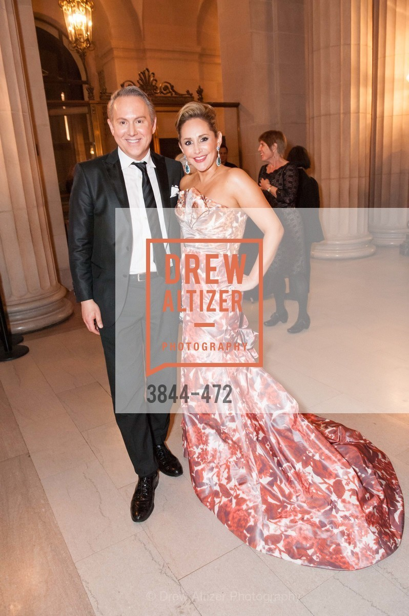 Joel Goodrich, Brenda Zarate, SAN FRANCISCO BALLET Opening Night Gala: PHENOMENAL - Intermission & Dinner, US. SF City Hall, January 22nd, 2014,Drew Altizer, Drew Altizer Photography, full-service agency, private events, San Francisco photographer, photographer california