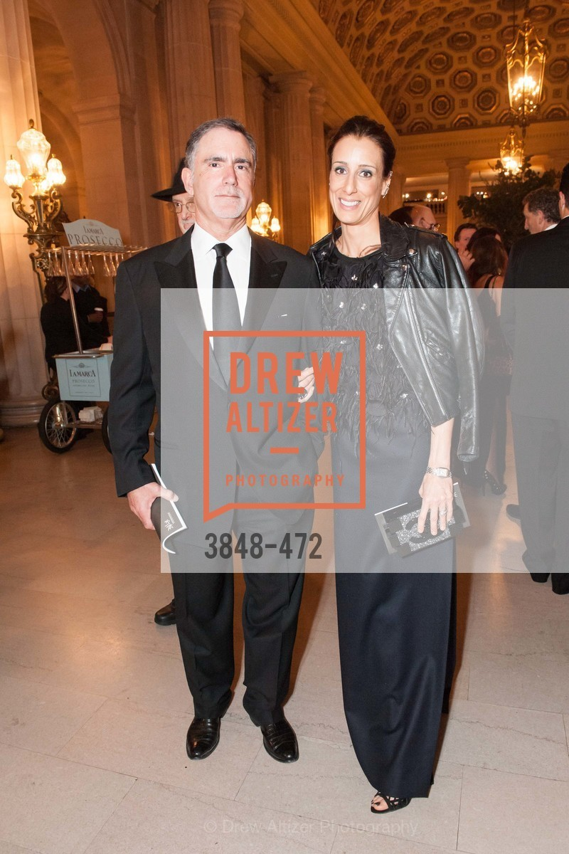 Phil Bronstein, Christine Bronstein, SAN FRANCISCO BALLET Opening Night Gala: PHENOMENAL - Intermission & Dinner, US. SF City Hall, January 22nd, 2014,Drew Altizer, Drew Altizer Photography, full-service event agency, private events, San Francisco photographer, photographer California