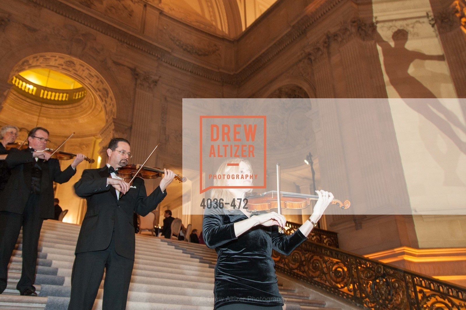 Performance, SAN FRANCISCO BALLET Opening Night Gala: PHENOMENAL - Intermission & Dinner, US. SF City Hall, January 22nd, 2014,Drew Altizer, Drew Altizer Photography, full-service agency, private events, San Francisco photographer, photographer california
